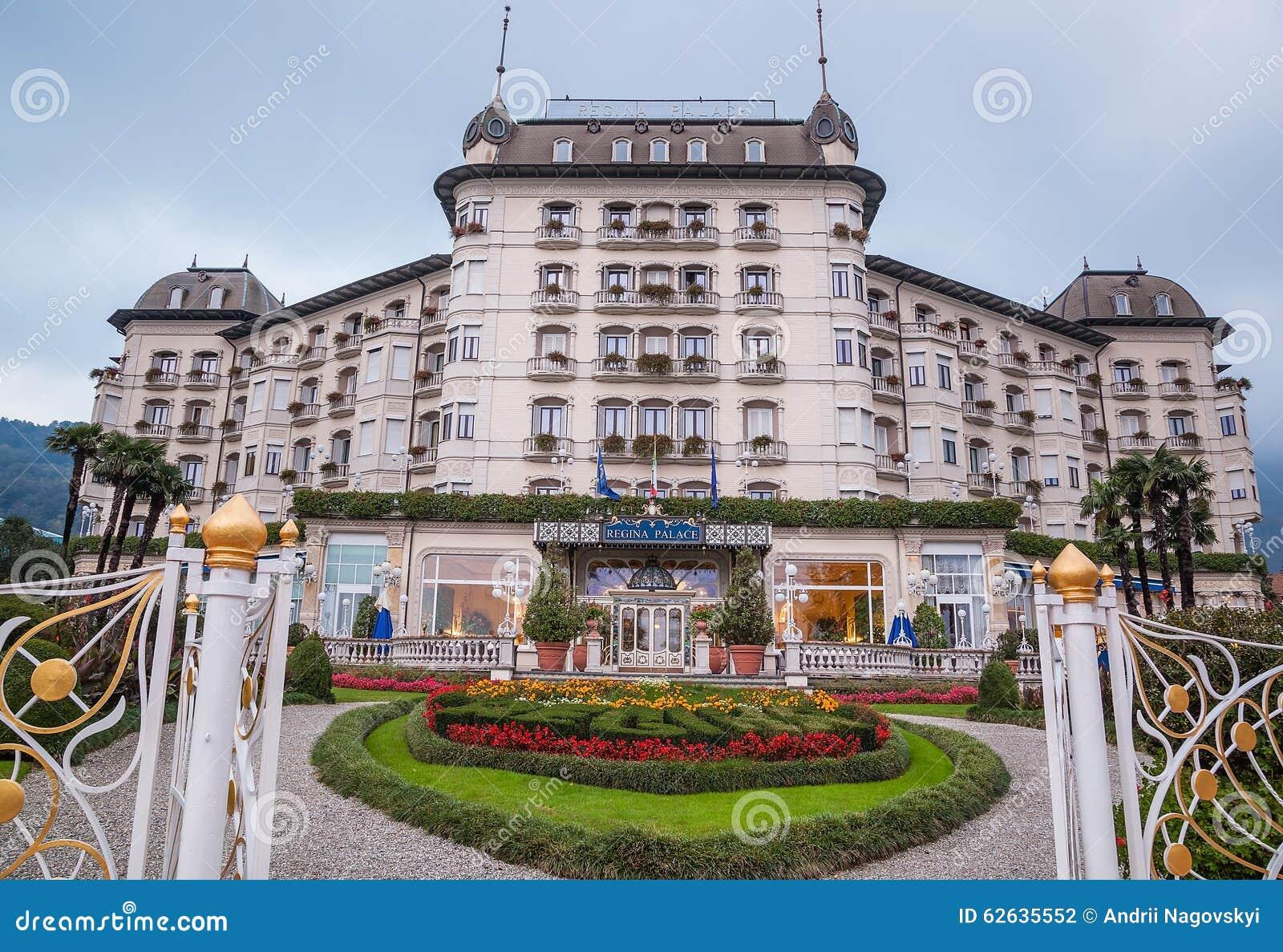 Hotel Regina Palace Stresa Itália Fotografia Editorial Imagem De Restaurante Europa 62635552