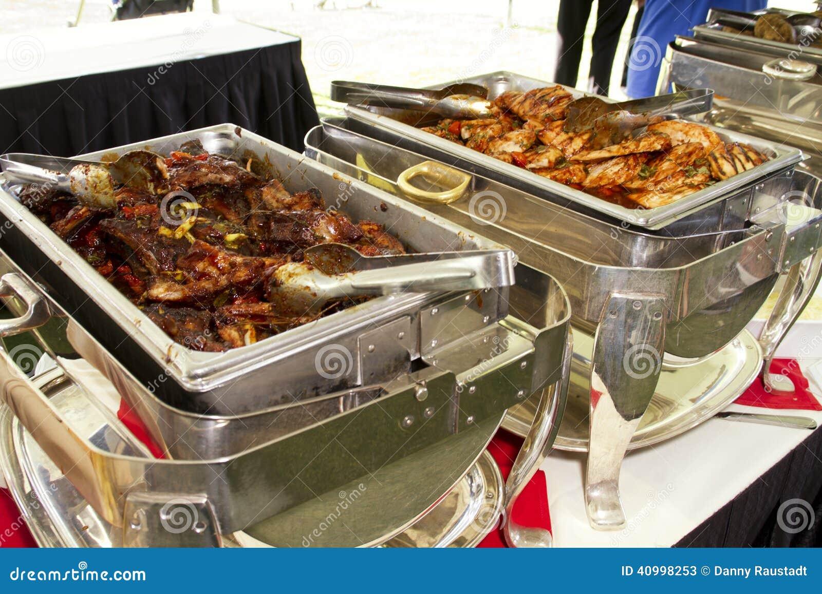Hotel resort buffet meal