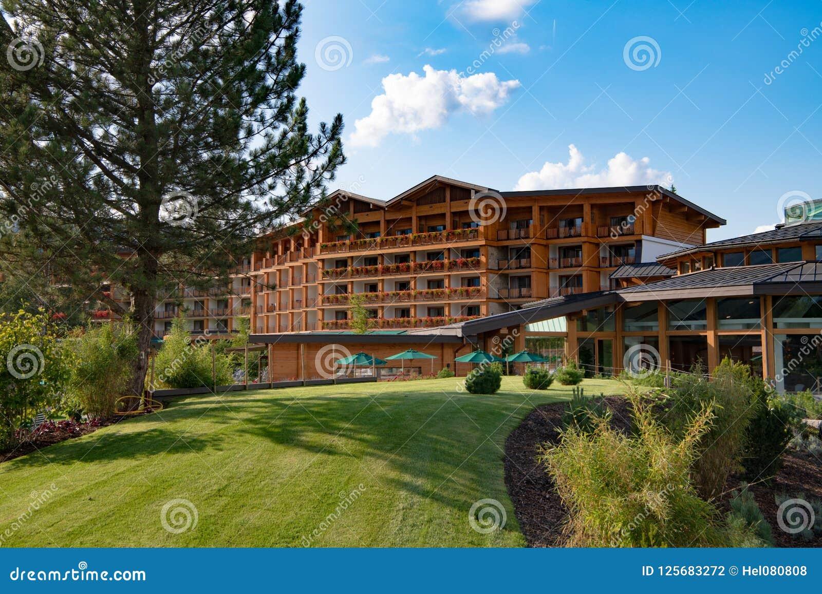 Hotel And Resort Sonnenalp Allgau Bavaria Germany Stock Photo