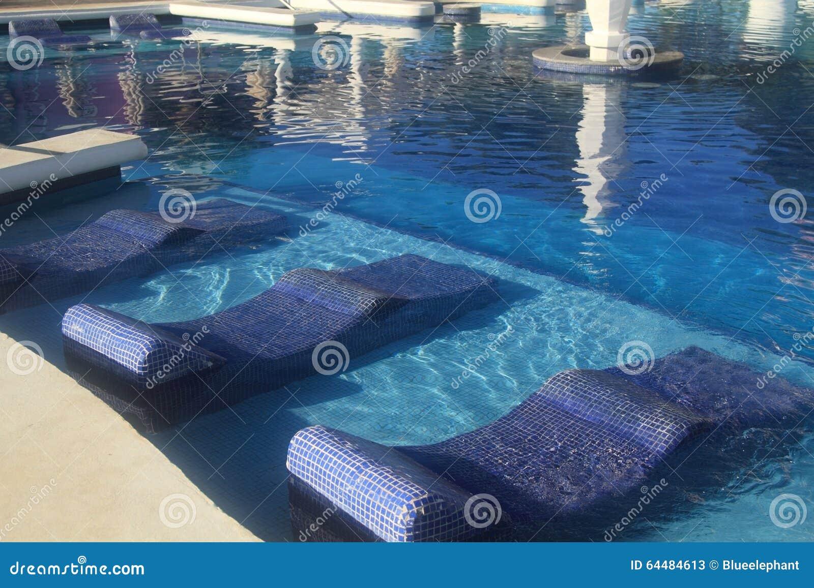 Hotel Resort Swimming Pool Stock Photo Image 64484613
