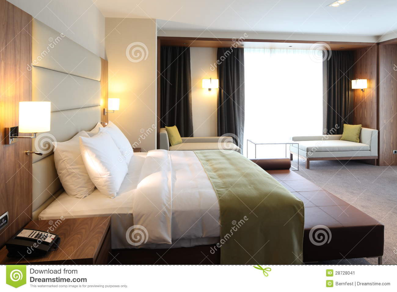 Hotel room stock image image 28728041 for Interior design zagreb