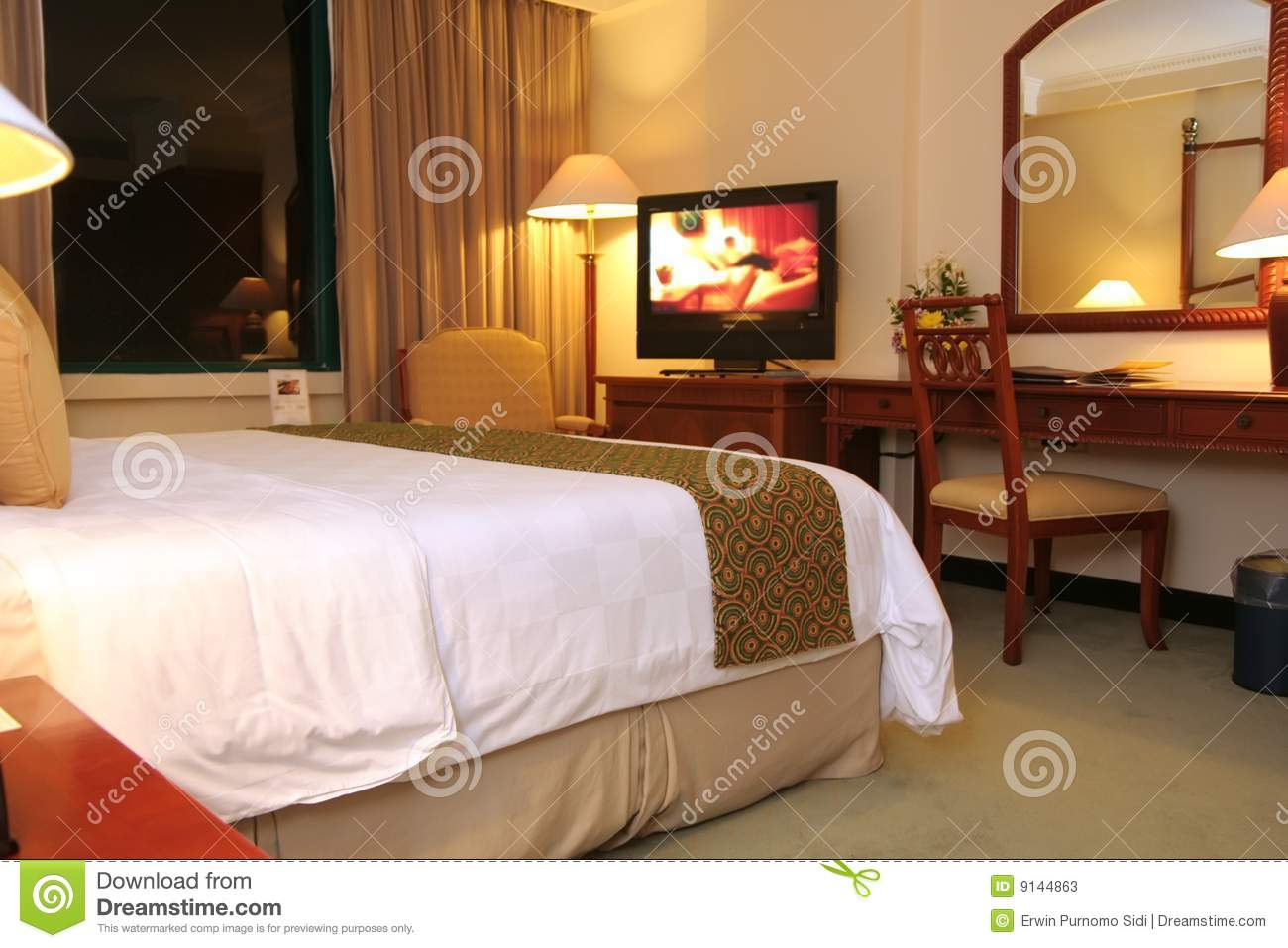Hotel Room Room Setup Stock Photos Image 9144863