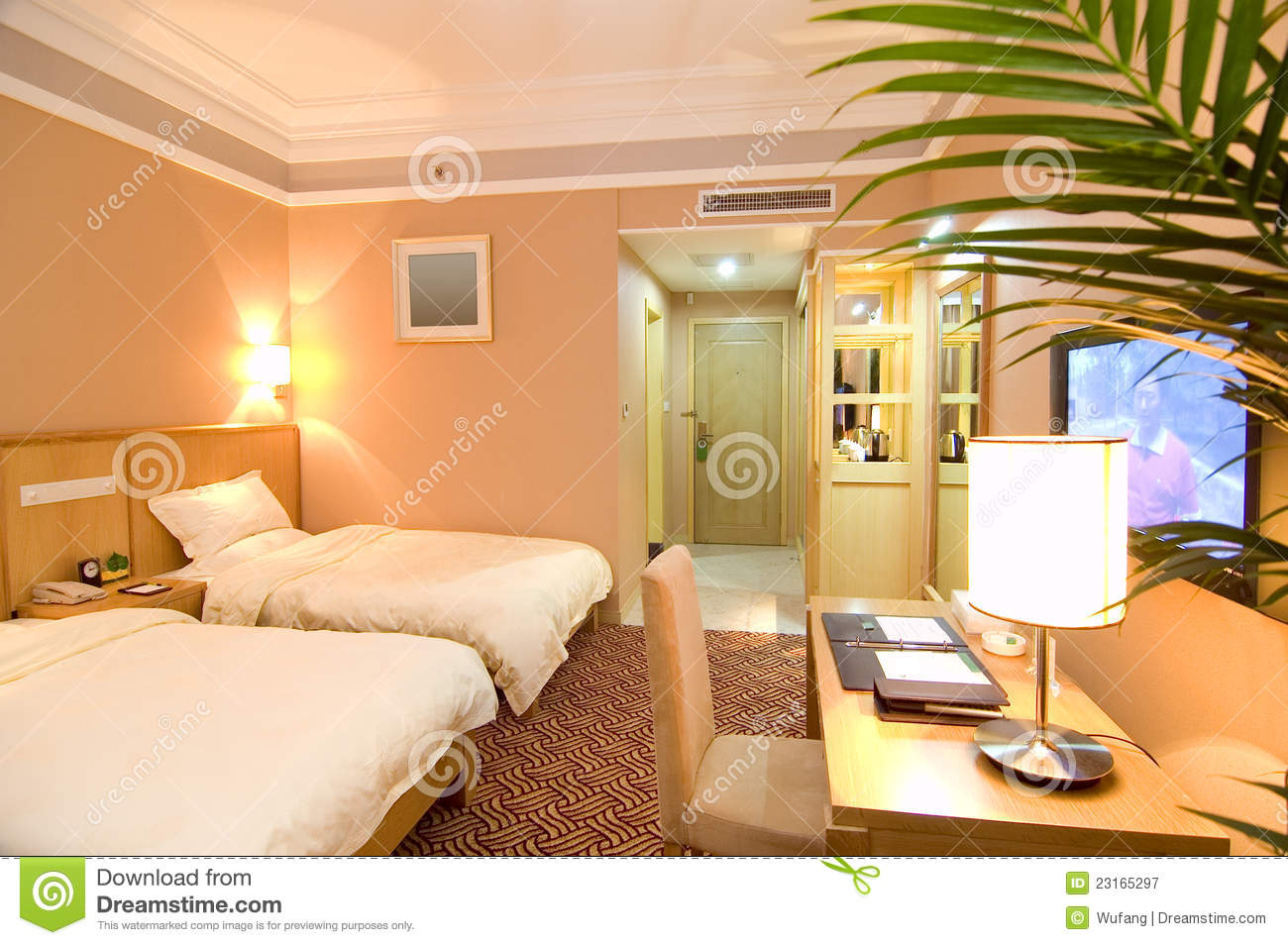 Hotel rooms royalty free stock photography image 23165297 for Designhotel maastricht comfort xl