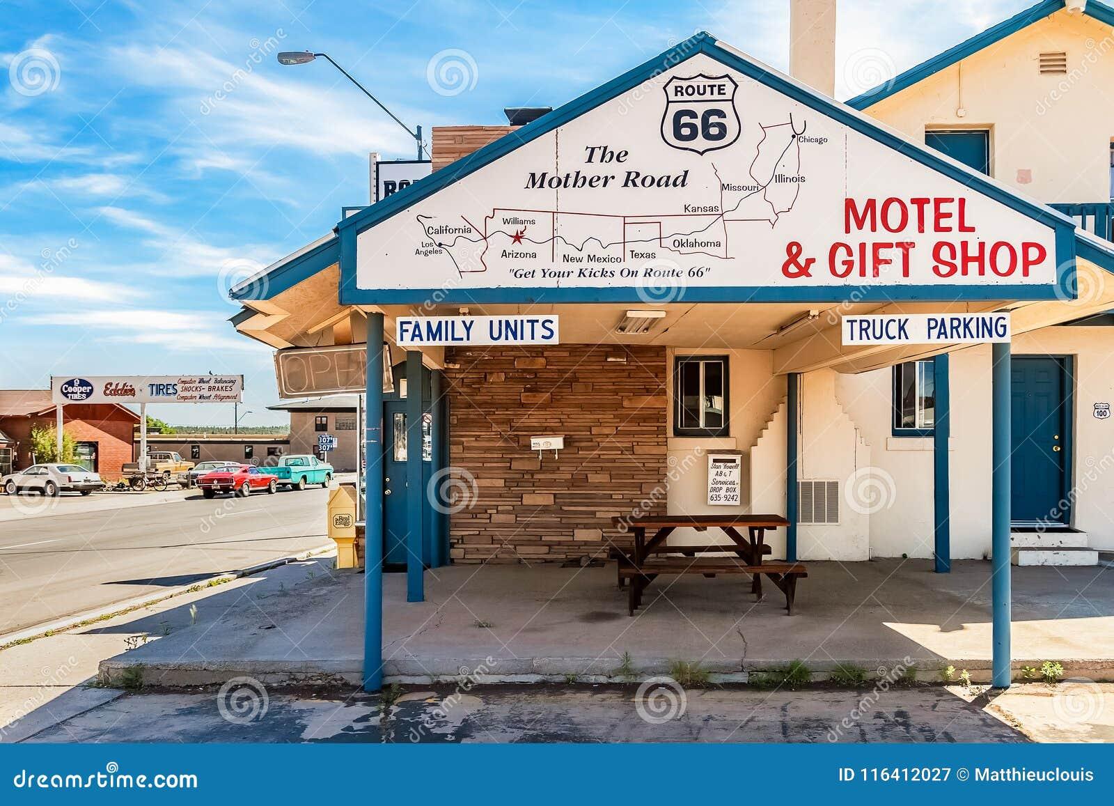 Hotel Route 66 da estrela