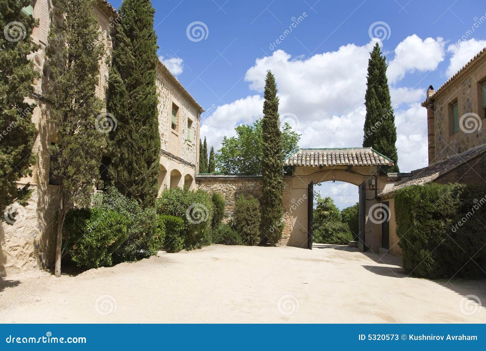 Download Hotel Rurale Silenzioso In Spagna Immagine Stock - Immagine di scenico, rurale: 5320573
