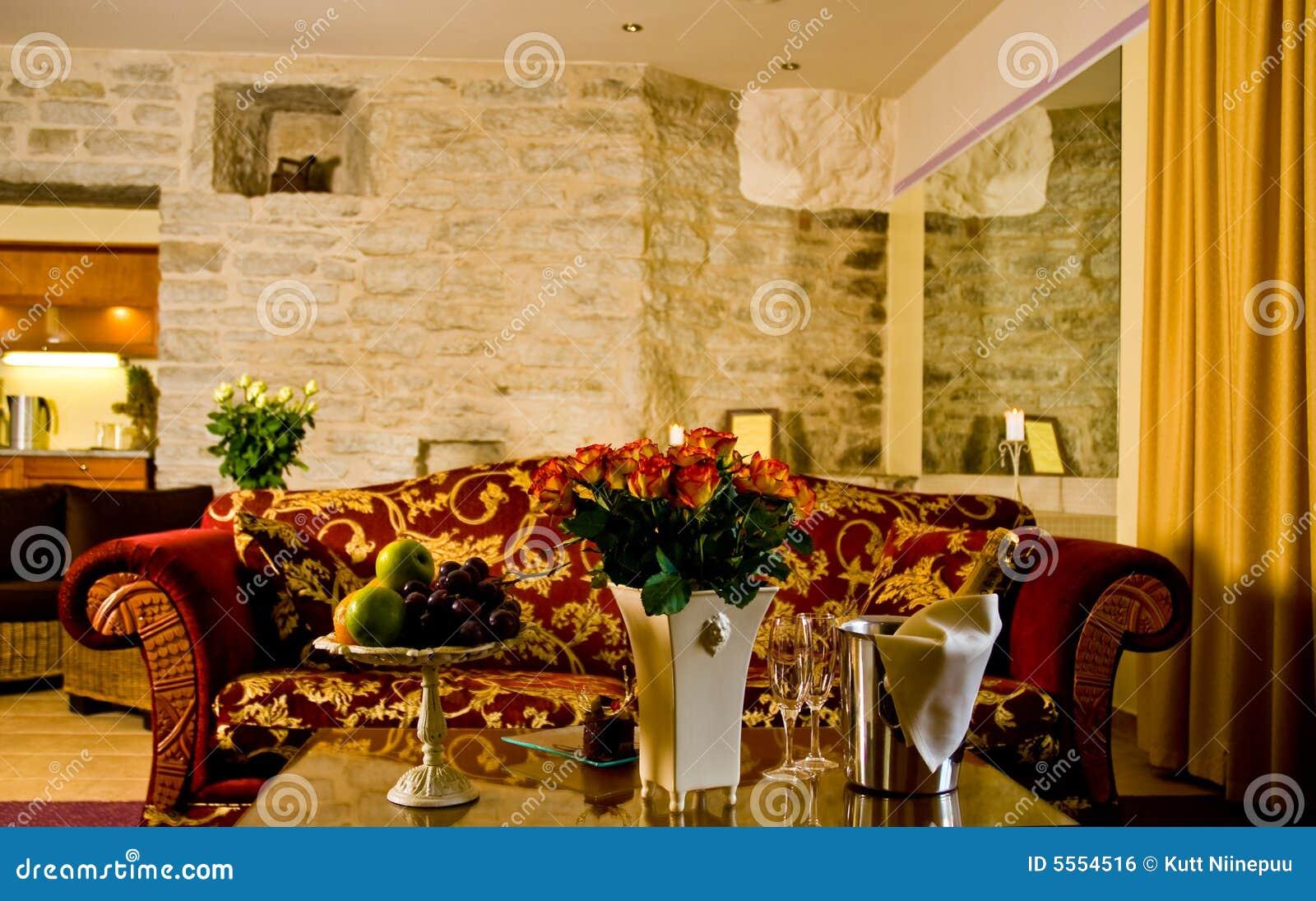 Hotel salon.