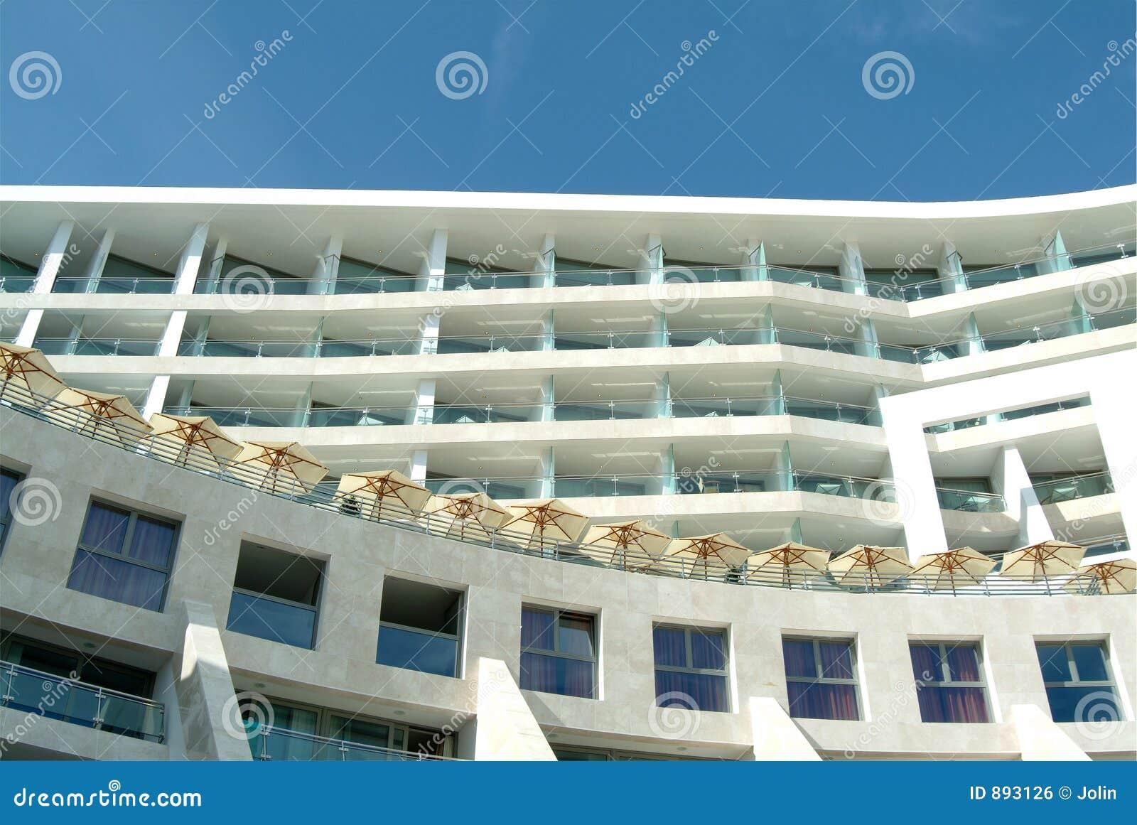 Hotel spa eurośródziemnomorskiego budynku.