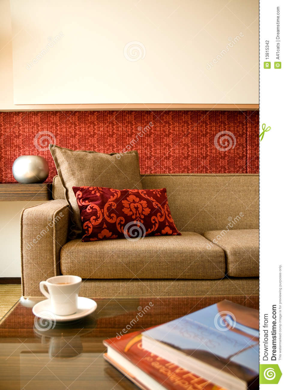 Hotel Room Photography: Hotel Suite Living Room With Interior Design Stock Photo
