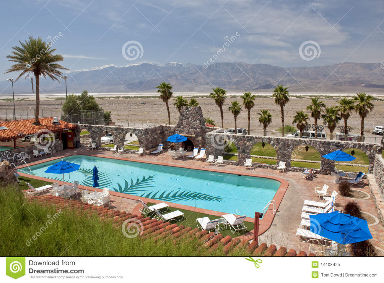 Hotel Swimming Pool And Desert Royalty Free Stock Photo Image 14108425