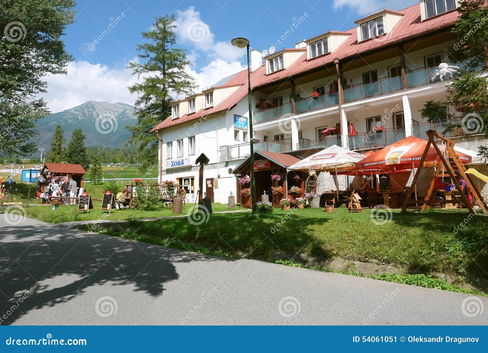 Hotel in Tatranska Lomnica, Slowakije