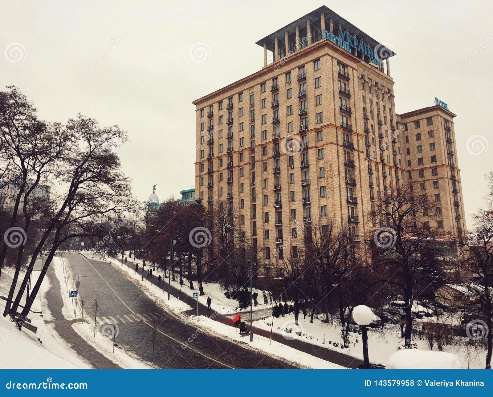 Hotel Ucraina, quadrato di indipendenza