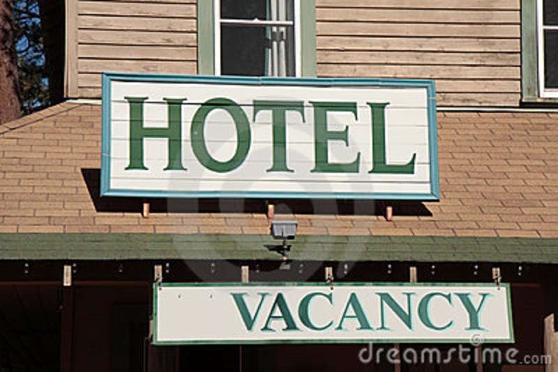 hotel vacancy sign stock images image