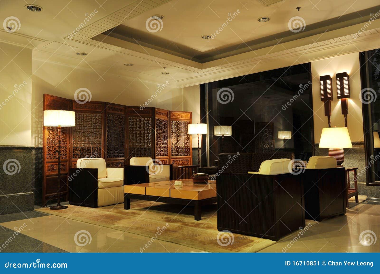 Hotel-Vorhalle