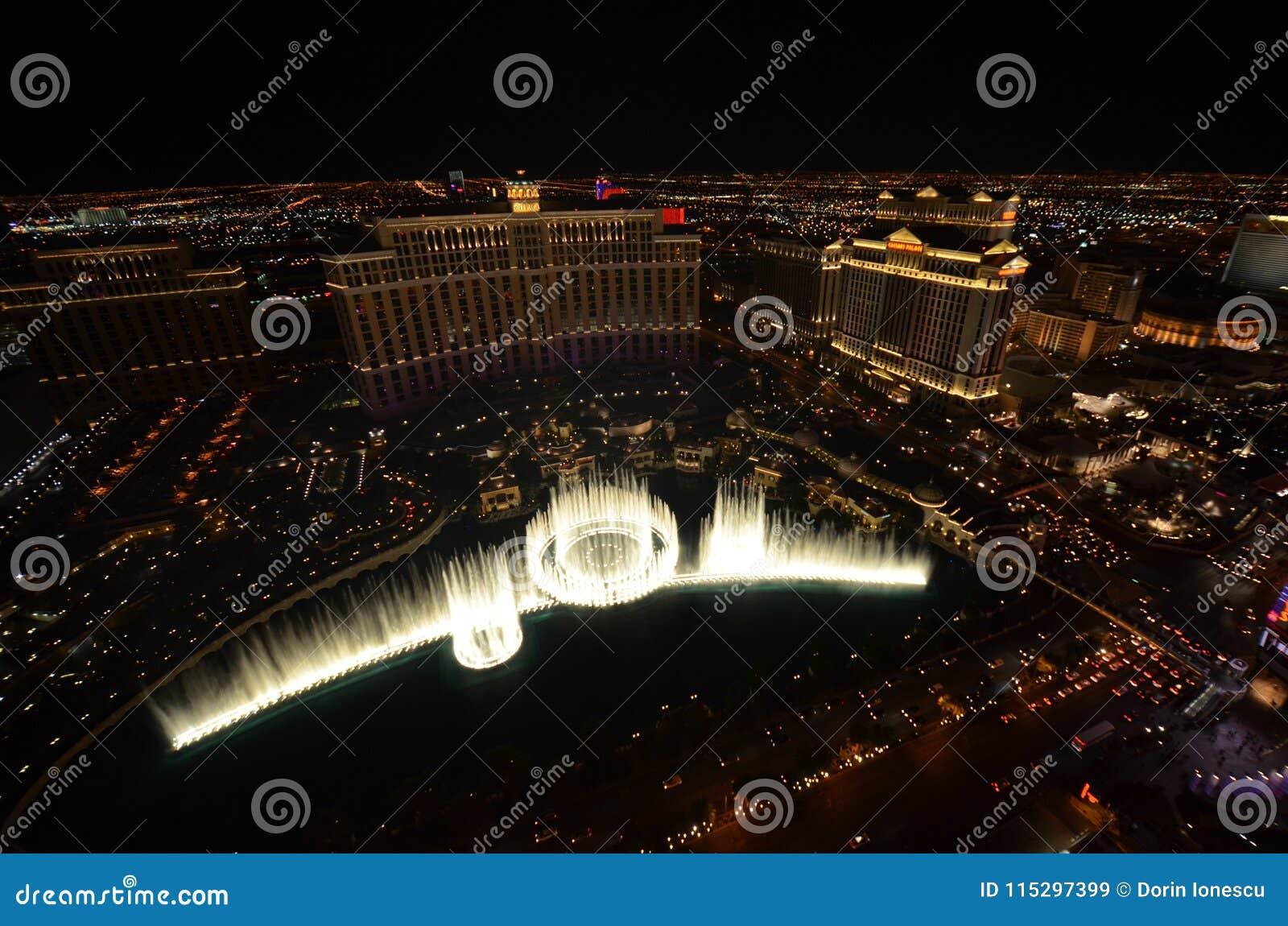 Hotel Y Casino Bellagio Estructura Característica