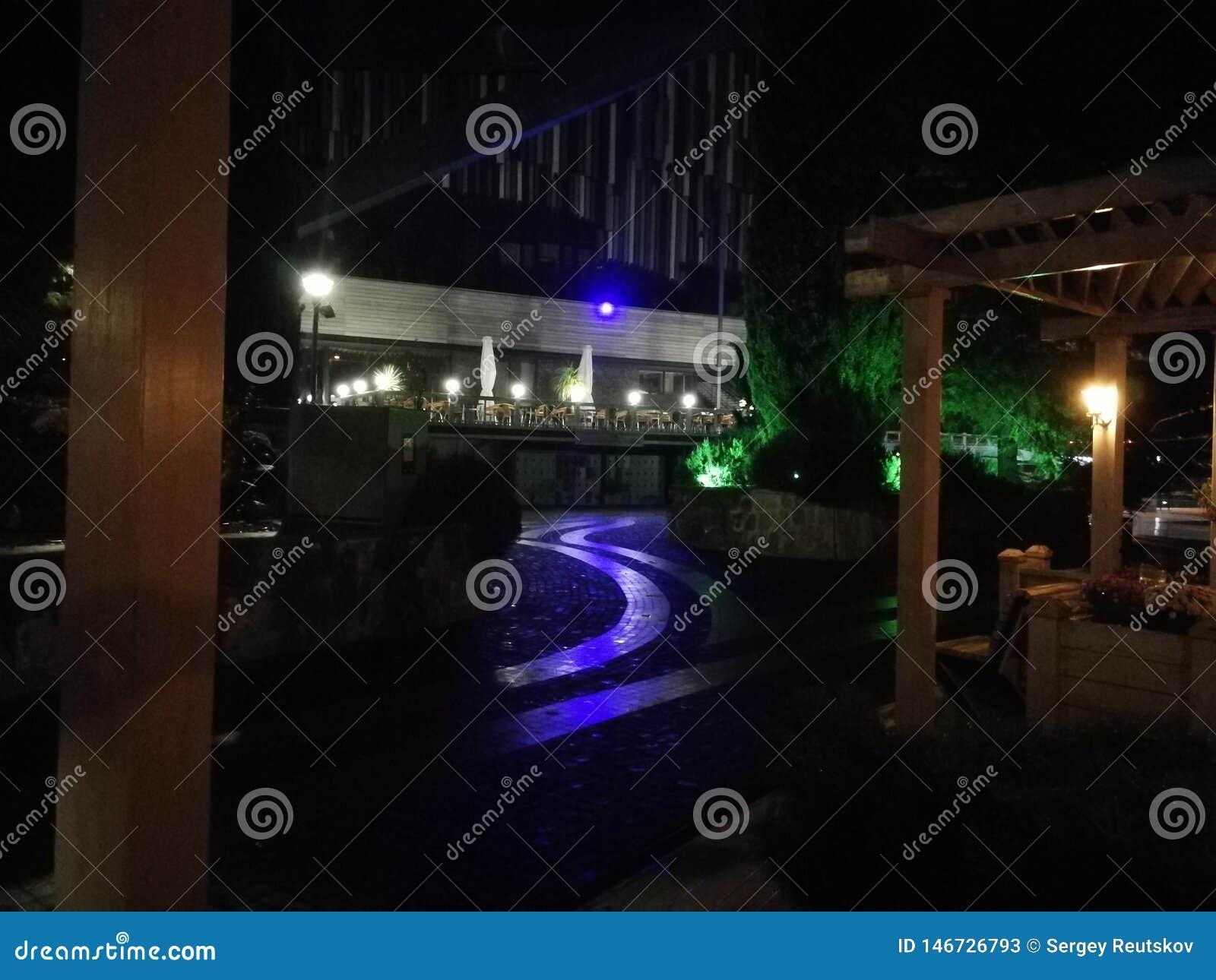 Hotel Yalta Intourist, nachtschot