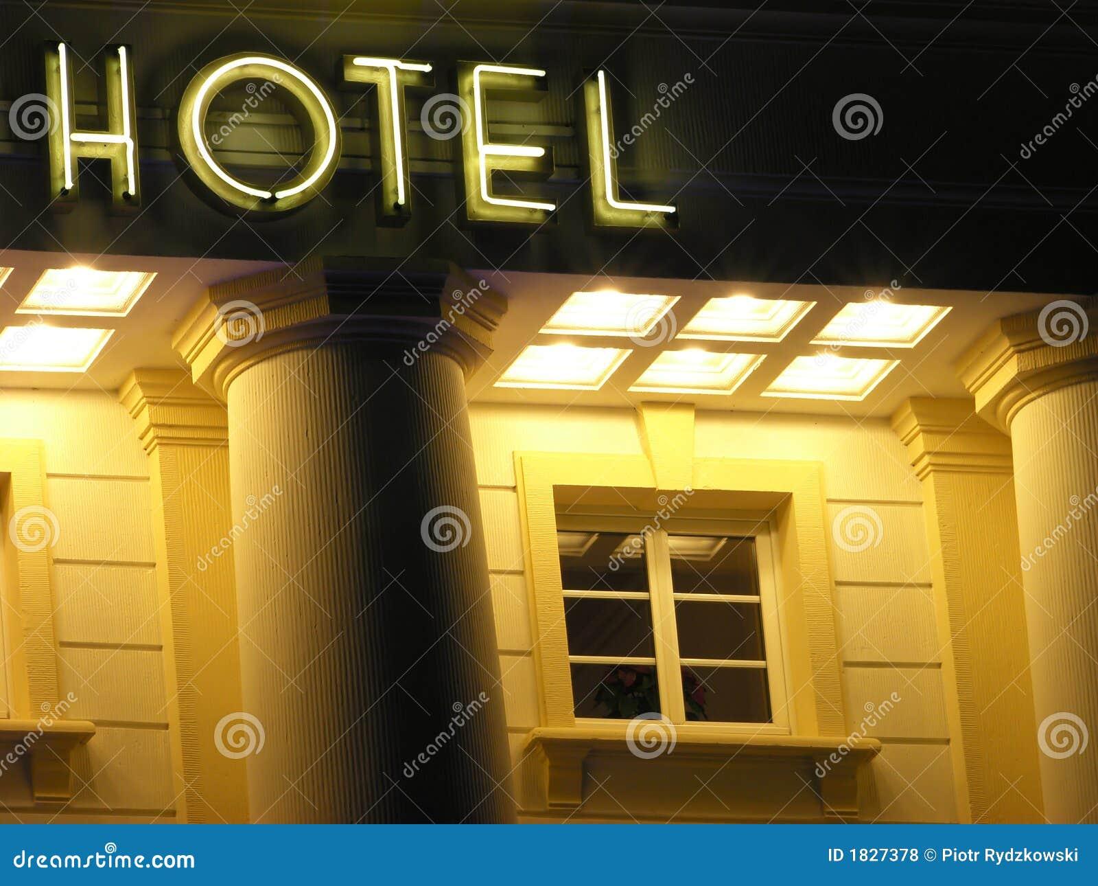 Hotel znak