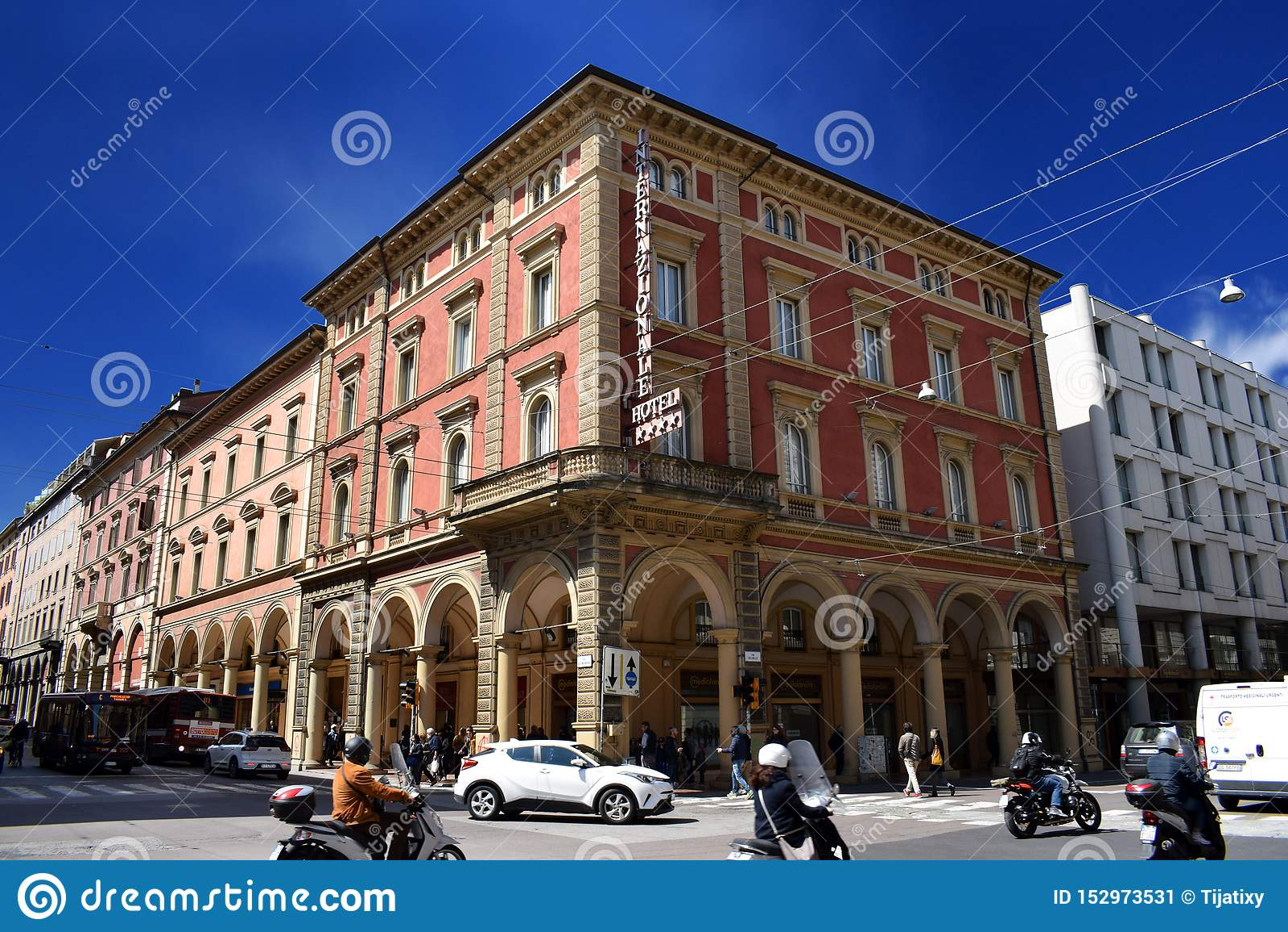 Hotell Internazionale, Bologna, Italien