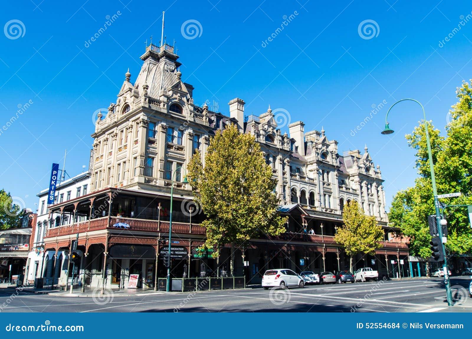 Hotelltreklöver i Bendigo, Australien