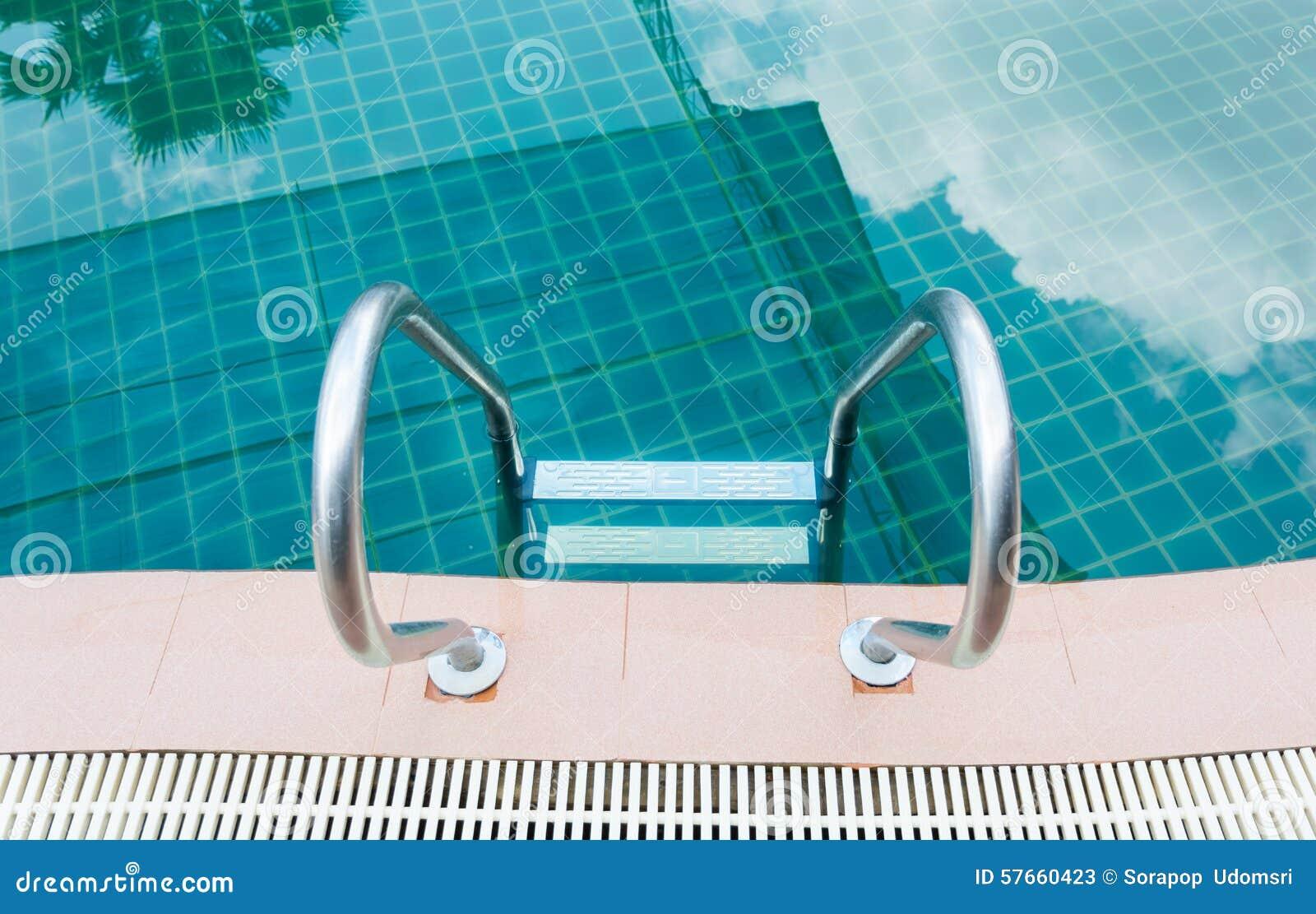 Hotelowy basen piękno płynie bardzo