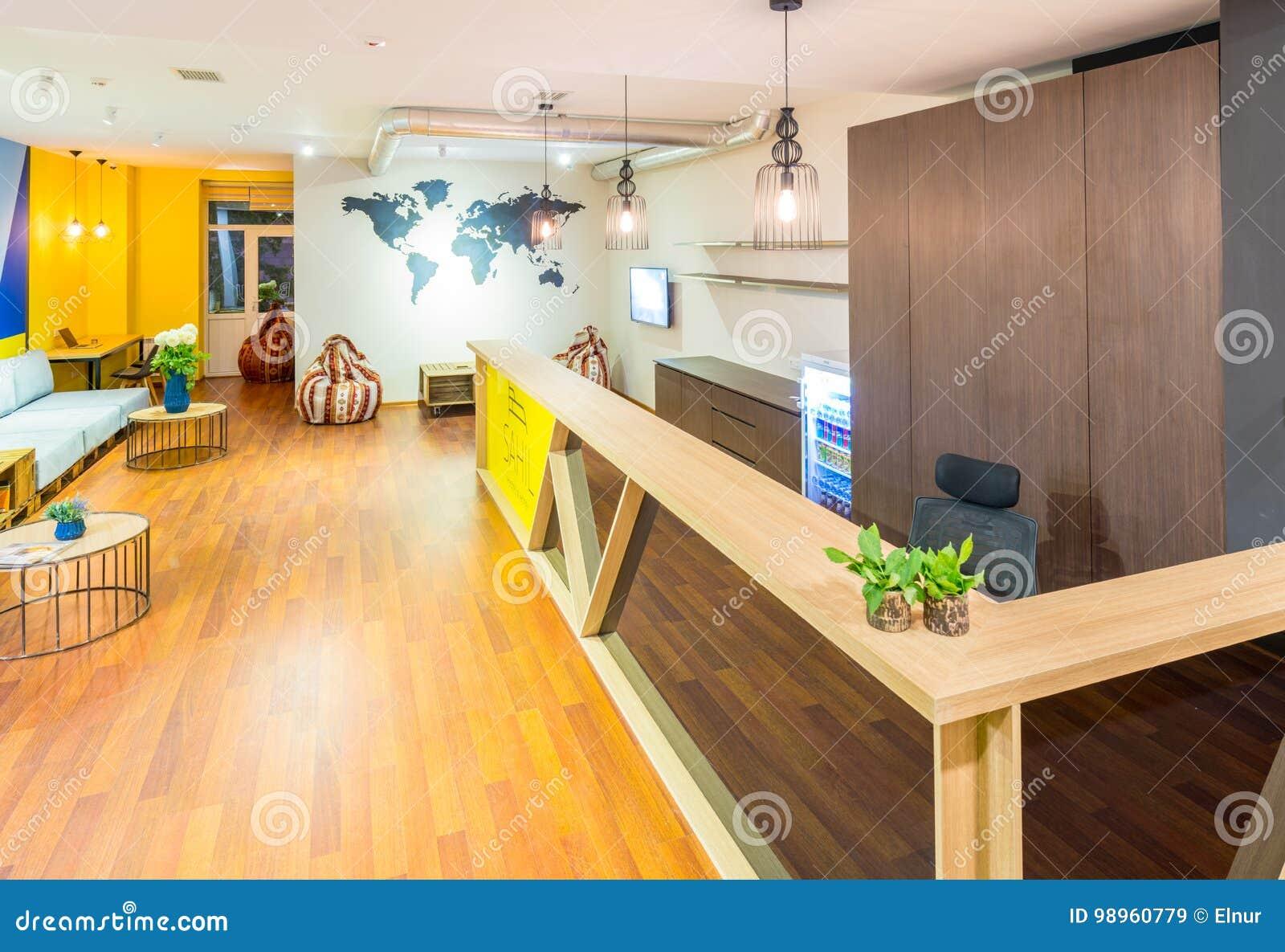 Hotelowy przyjęcie schroniska dormitorium