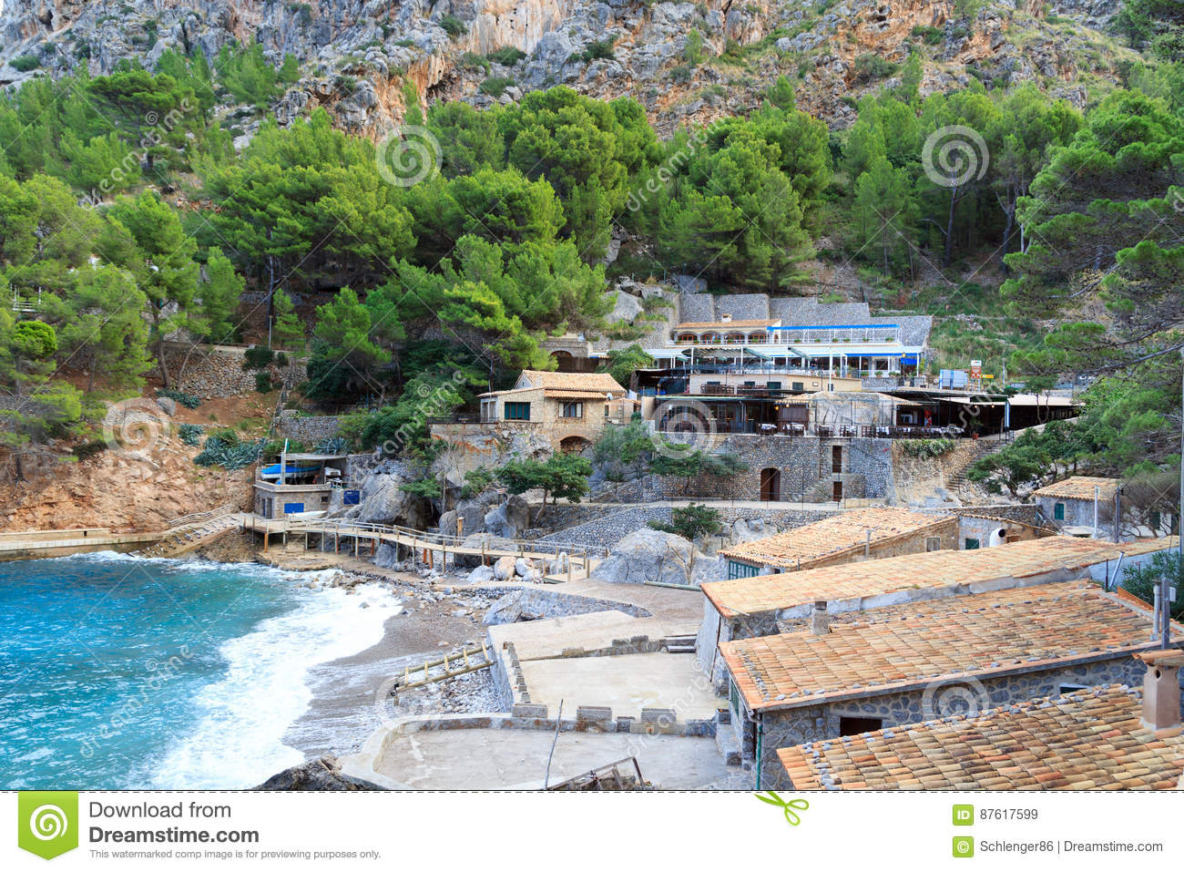 Hotels en Restaurants in Port DE Sa Calobra, Majorca