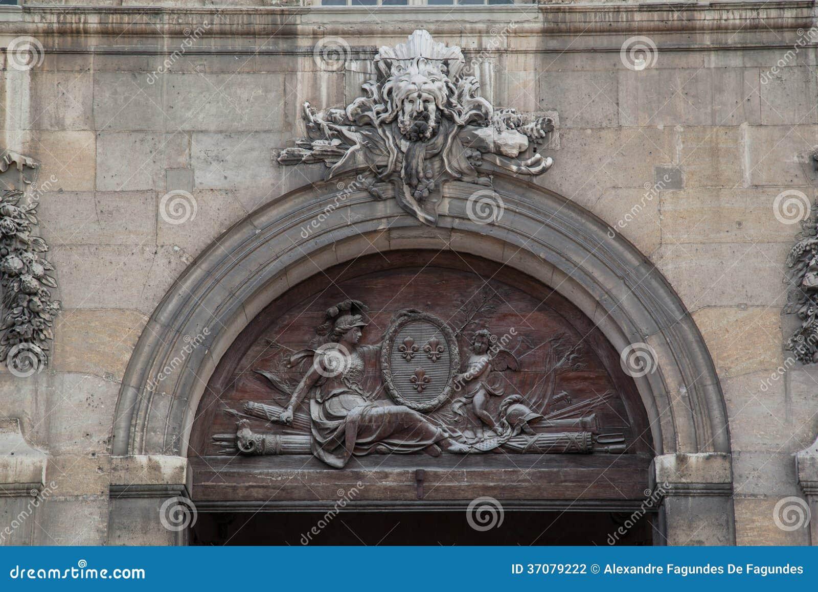 Download Hotelu Des Invalides Paryż Francja Zdjęcie Stock - Obraz złożonej z przybrania, paris: 37079222