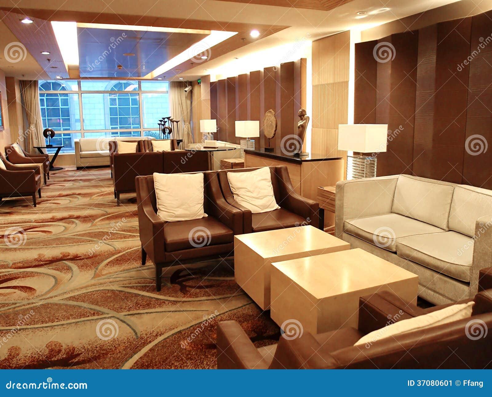 Download Hotelu kuluarowy wnętrze obraz stock. Obraz złożonej z wyznaczający - 37080601