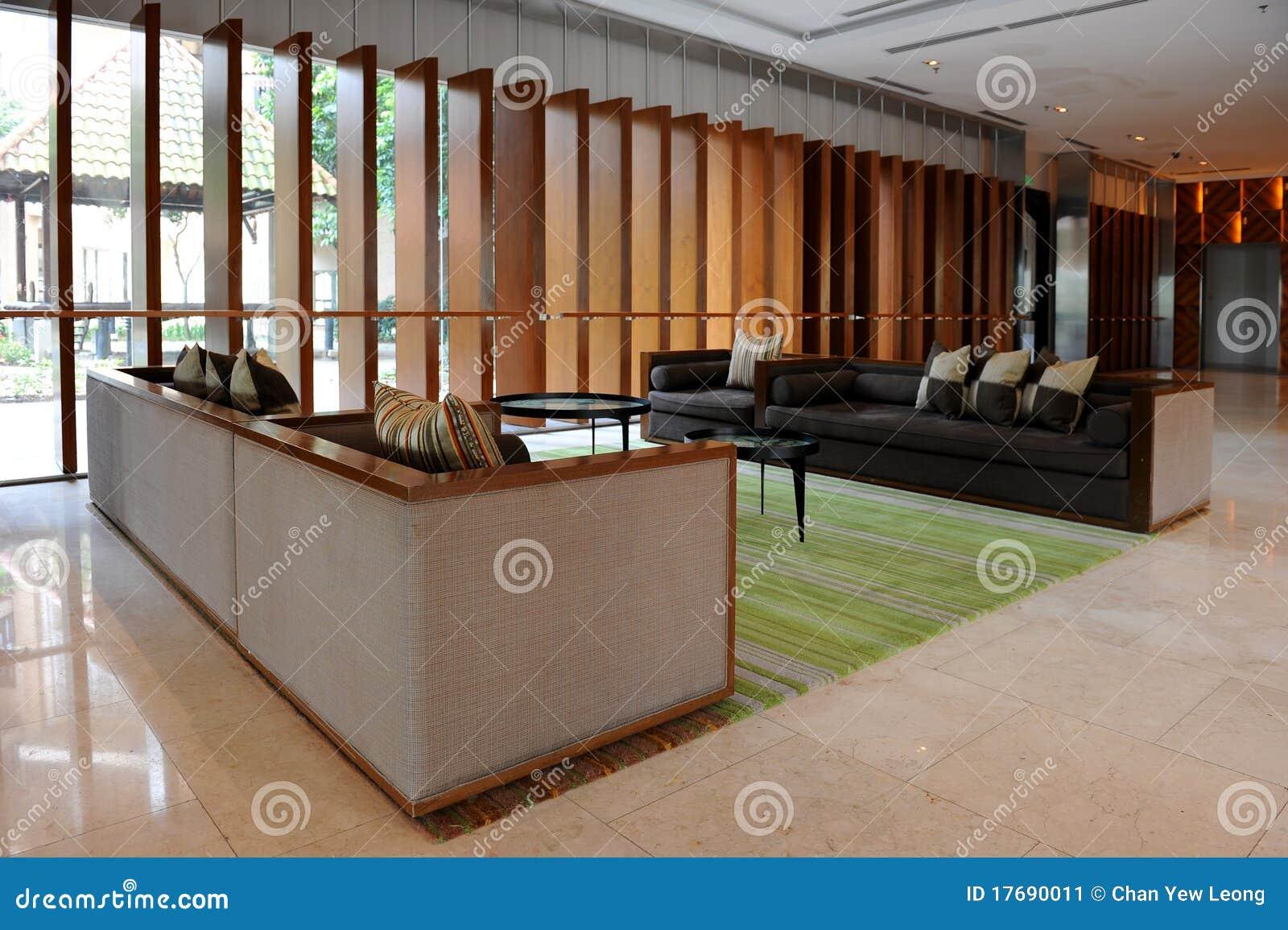 Hotelu lobby