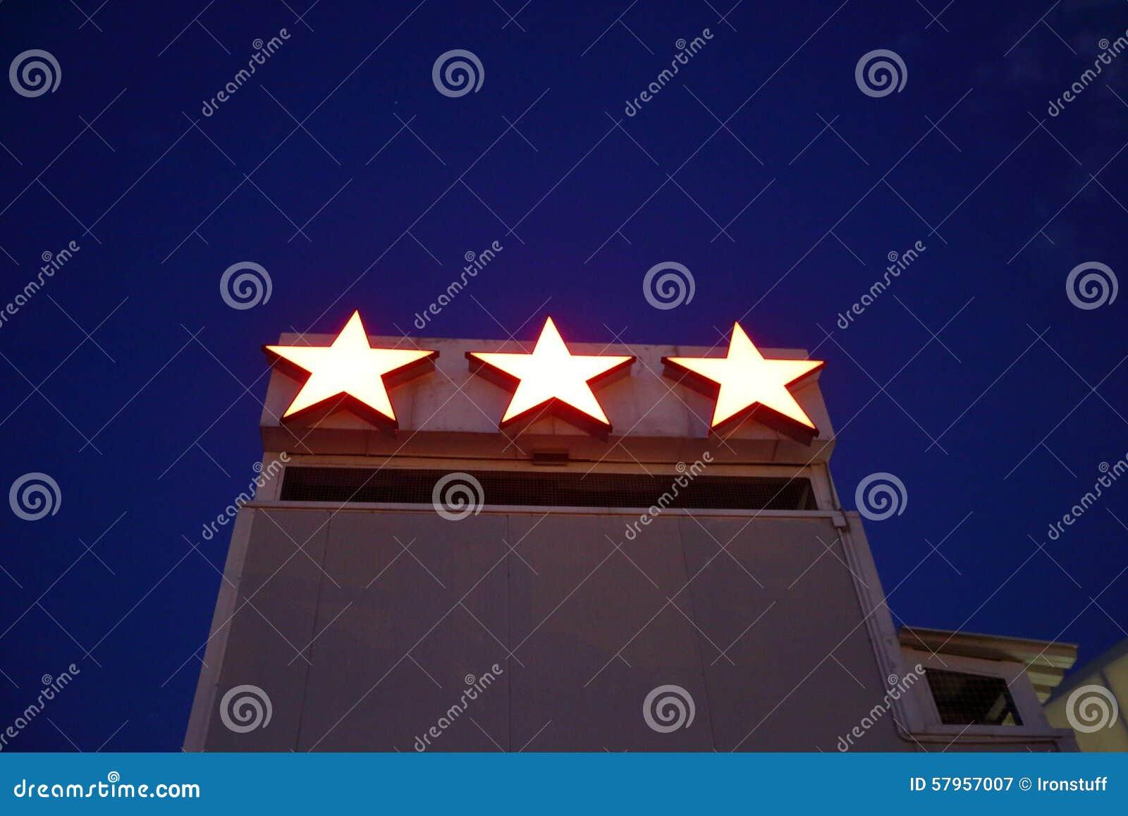 Hotelu trzy gwiazdy
