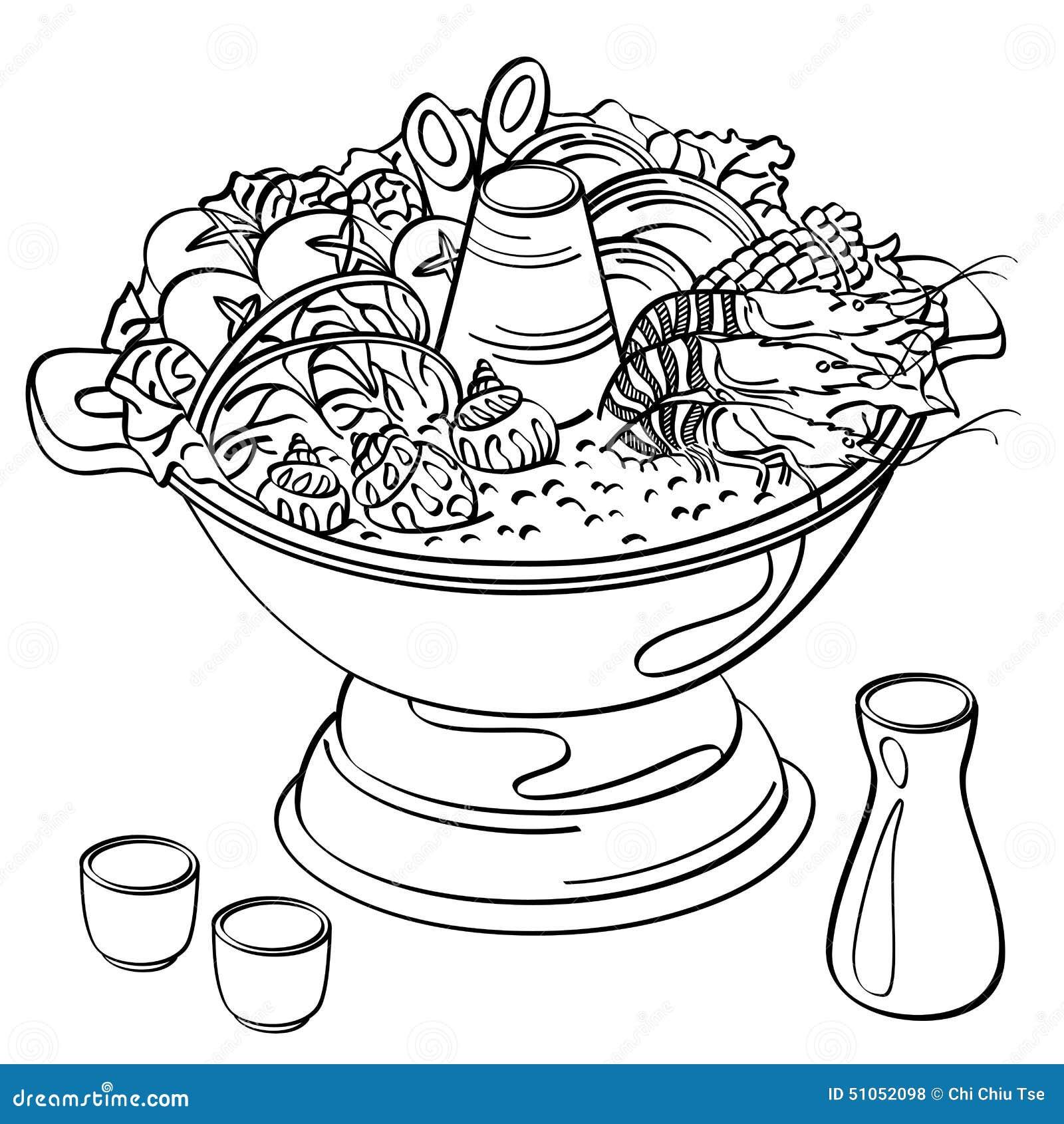 Hotpot jedzenie