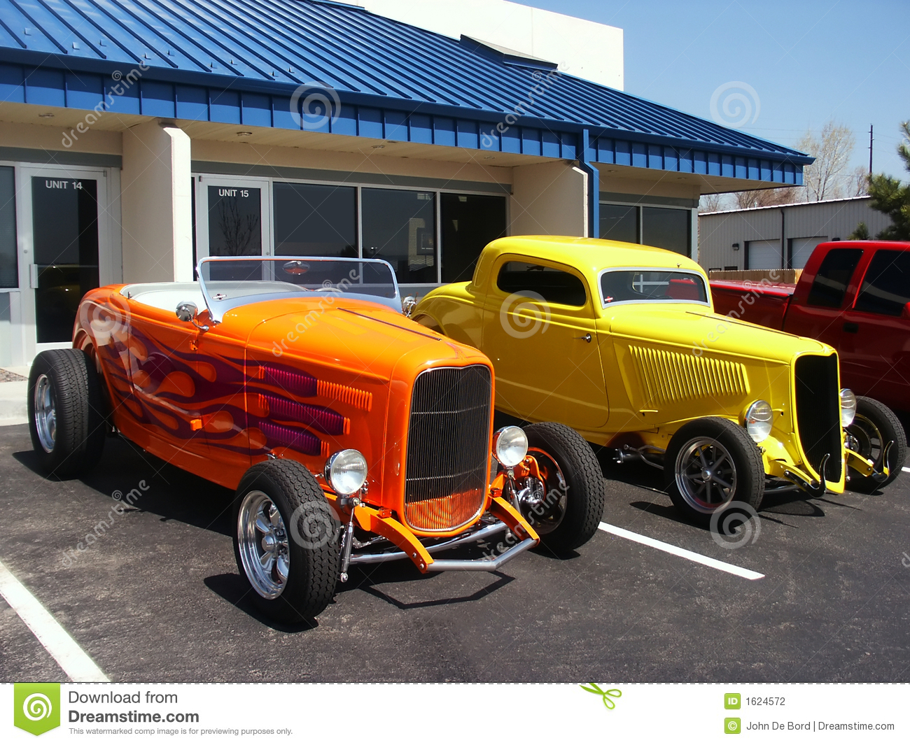 Stock Photography Hotrod Cars Image1624572