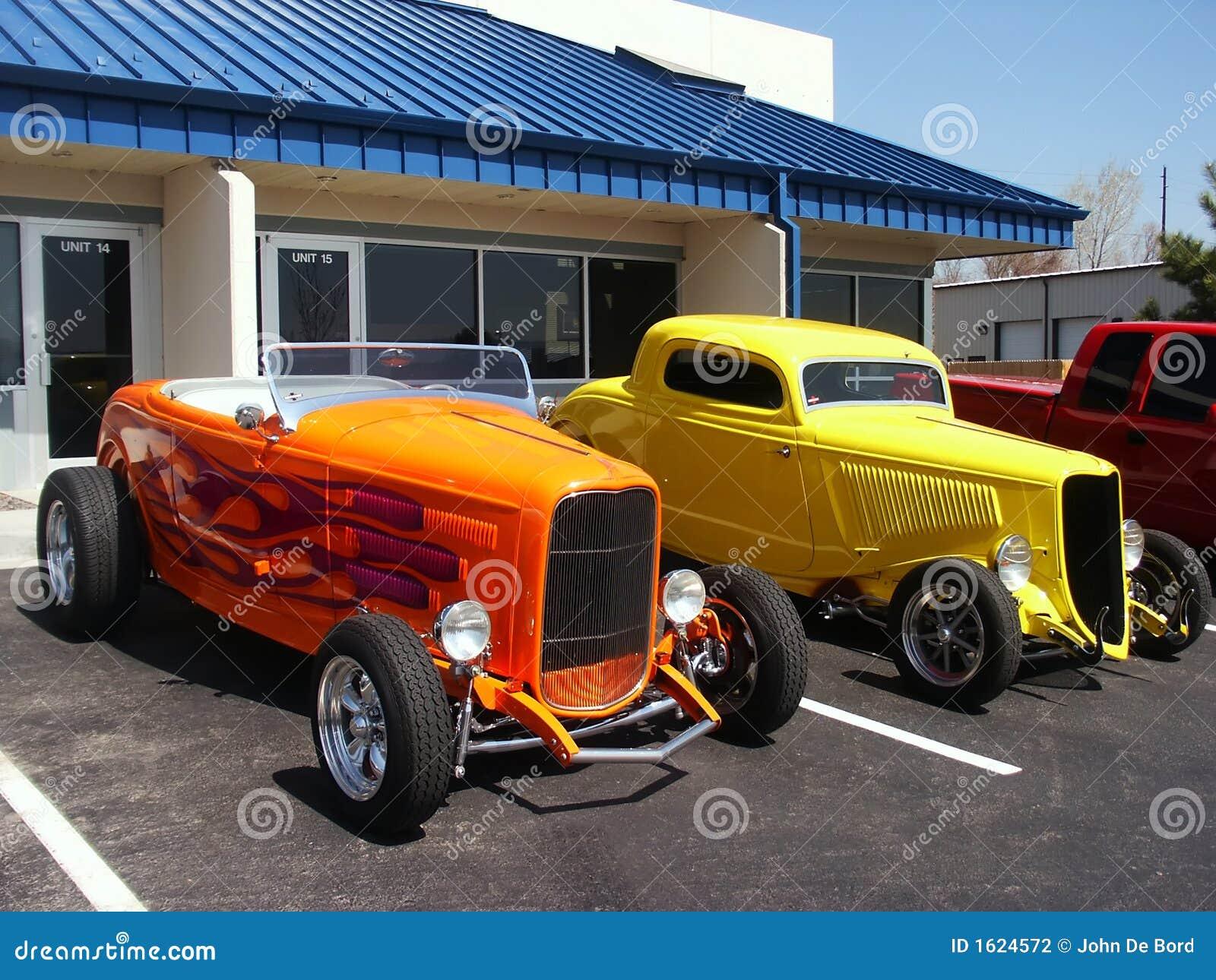 Hotrod Cars Stock Photography - Image: 1624572