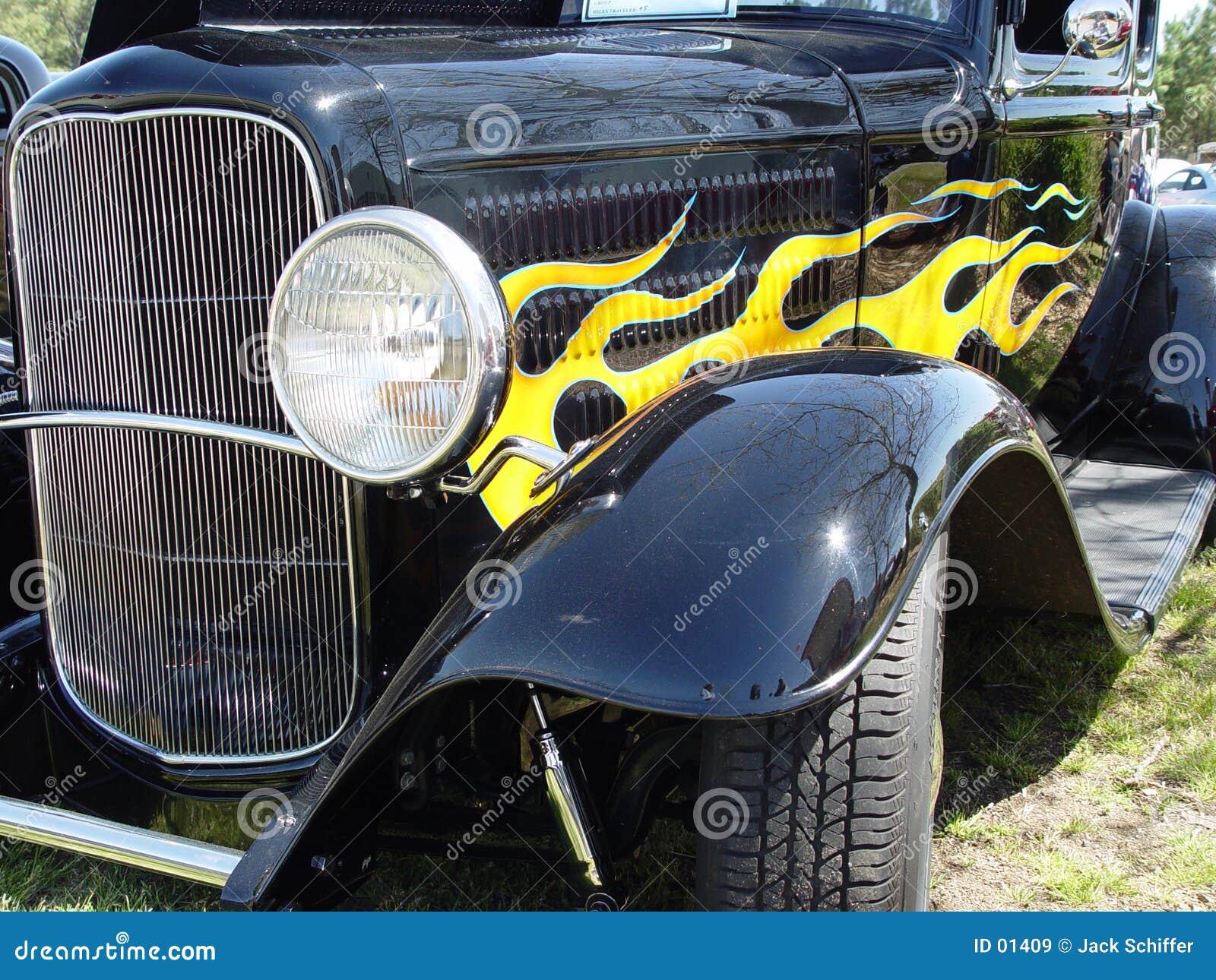 Hotrod negro