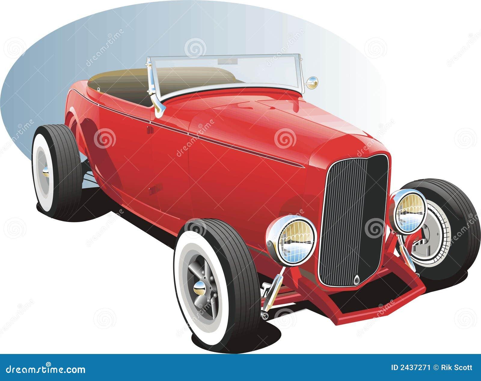 Hotrod rojo