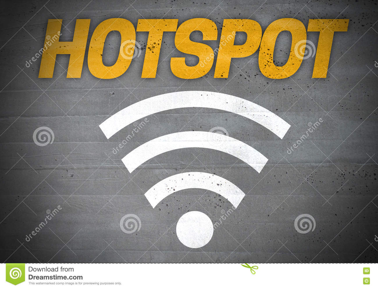 Hotspot Icon Concept Background Stock Photo - Image of gray ...