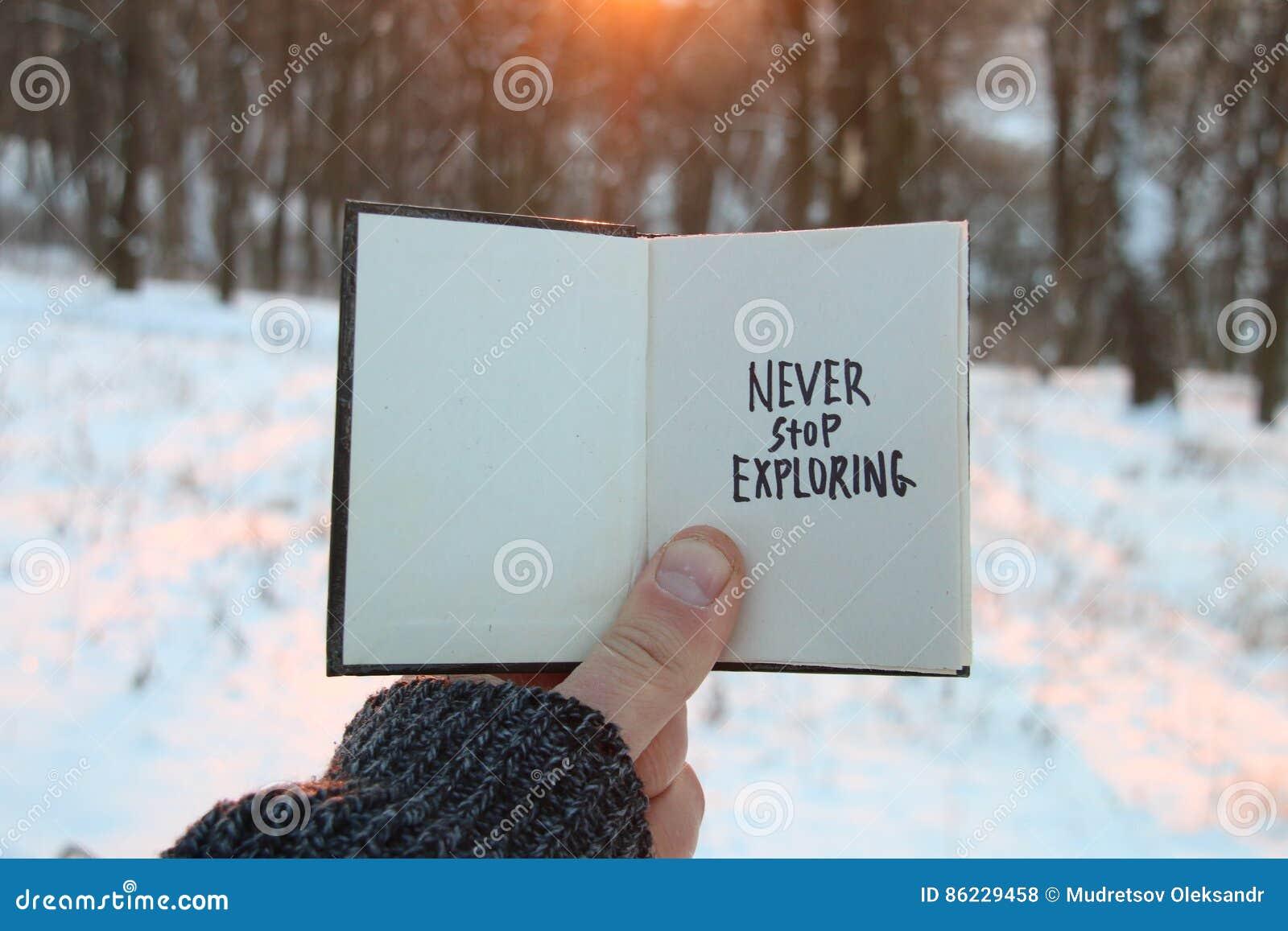 Citaten Over De Winter : Houd nooit op onderzoekend inspirational en motievencitaten boek