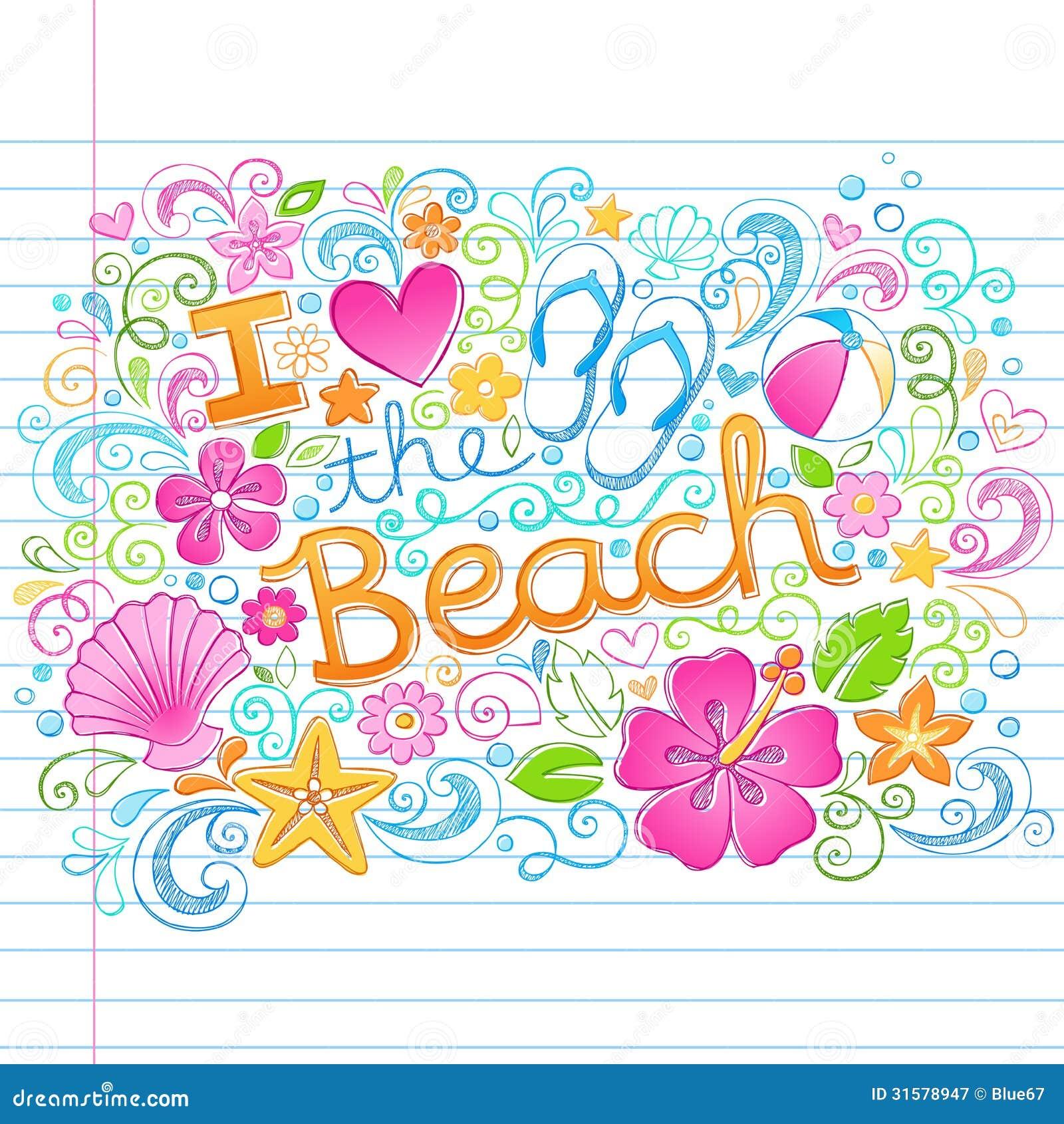 Houd van de Hawaiiaanse Vakantie D van de Strand Tropische Zomer