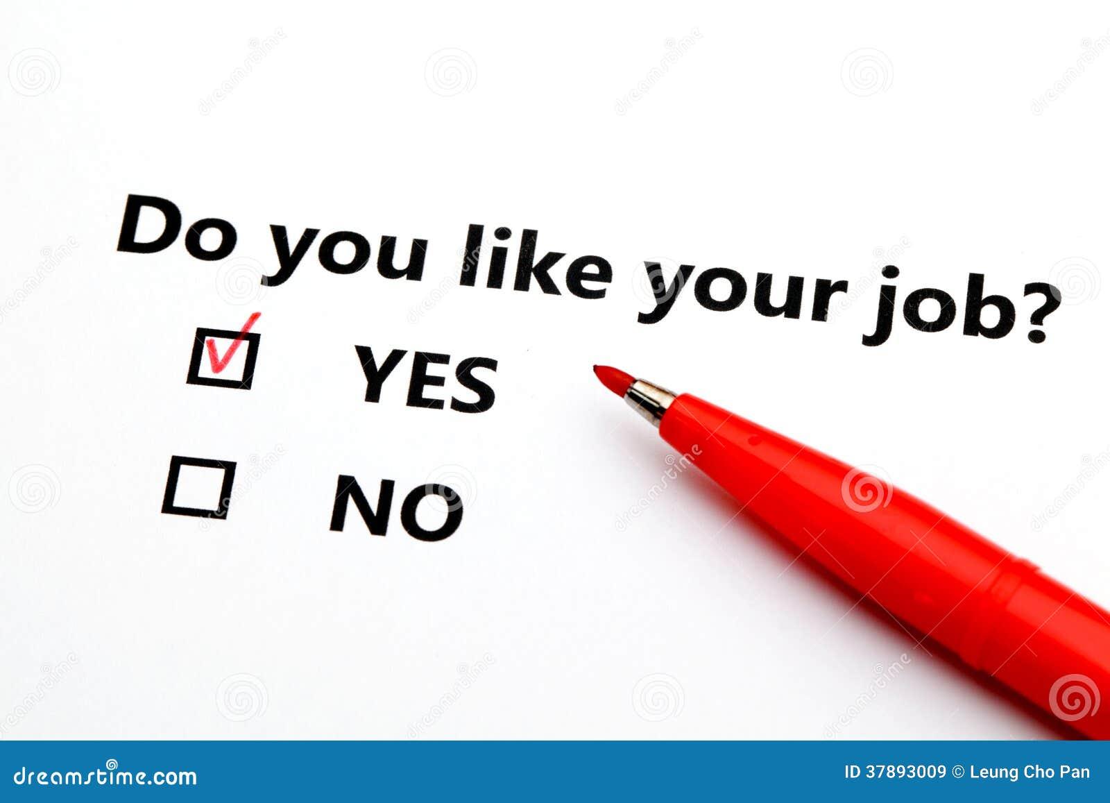 Houdt u van uw baan?