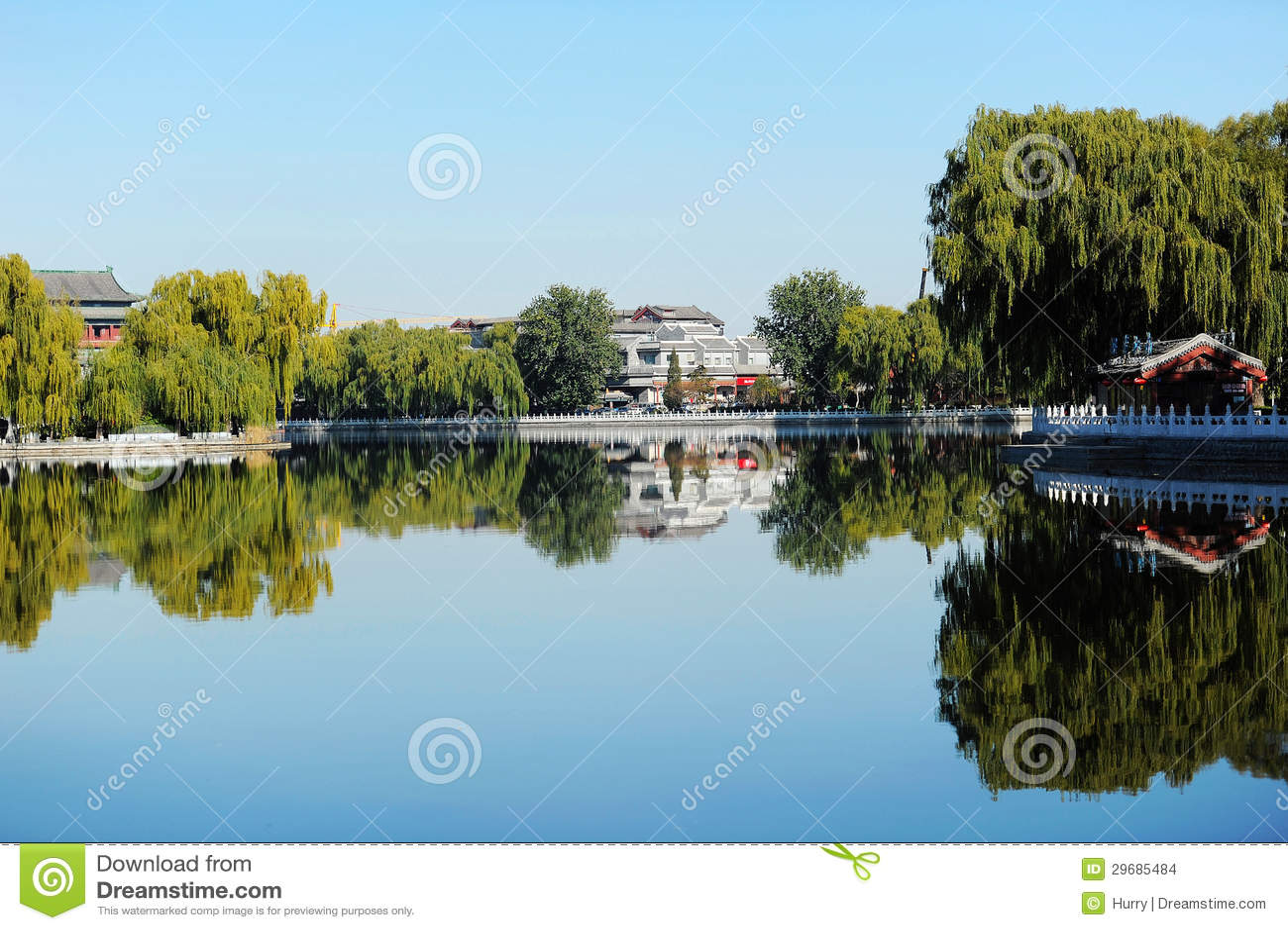 Houhai lake, Beijing