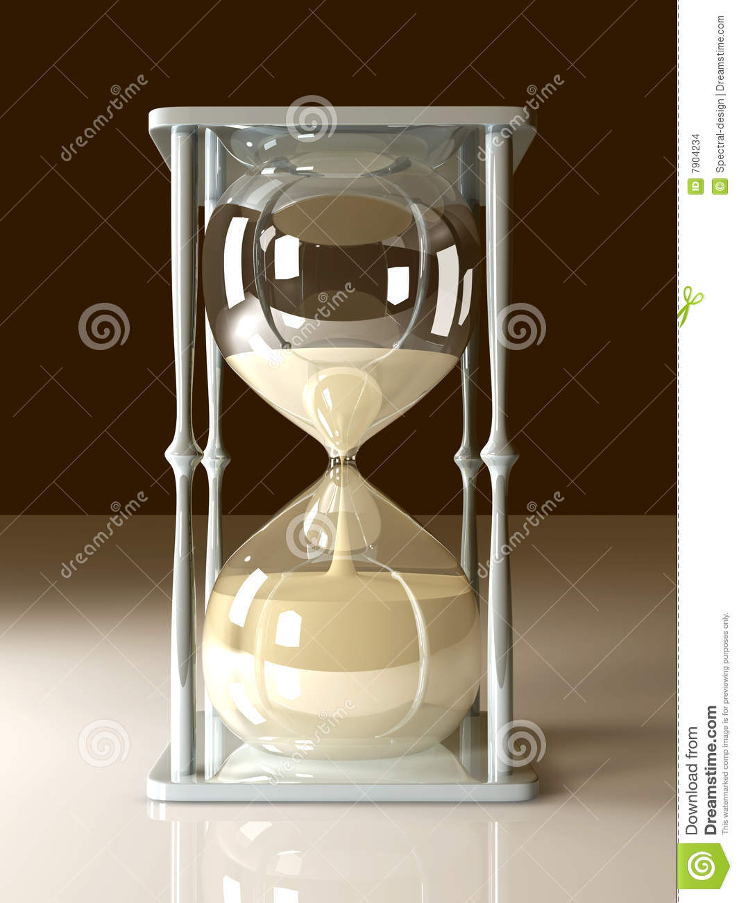 Broken hourglass  Hour Glass Stock Images - Image: 7904234