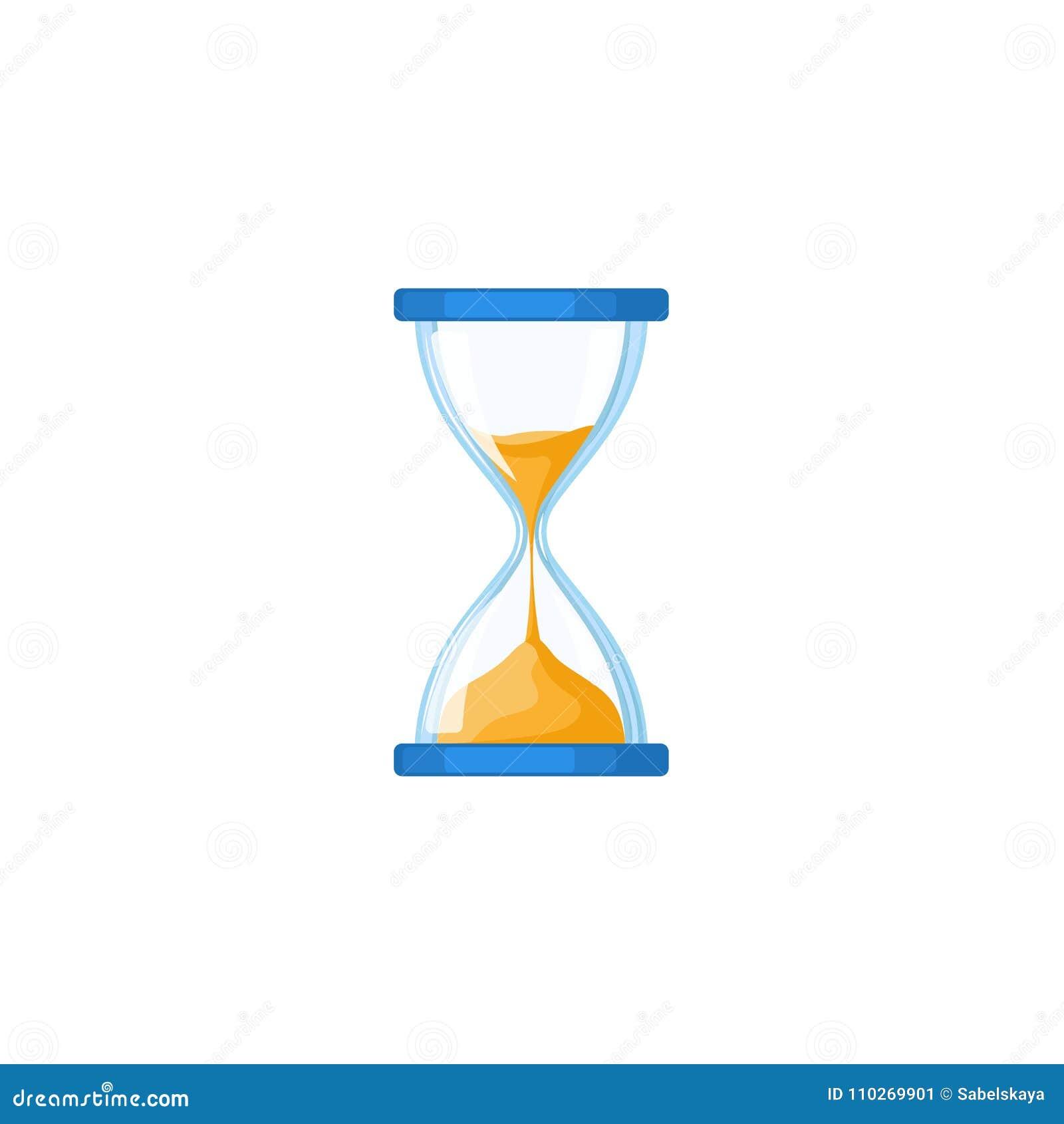 Hourglass, hour-glass, sandglass, sand-glass icon