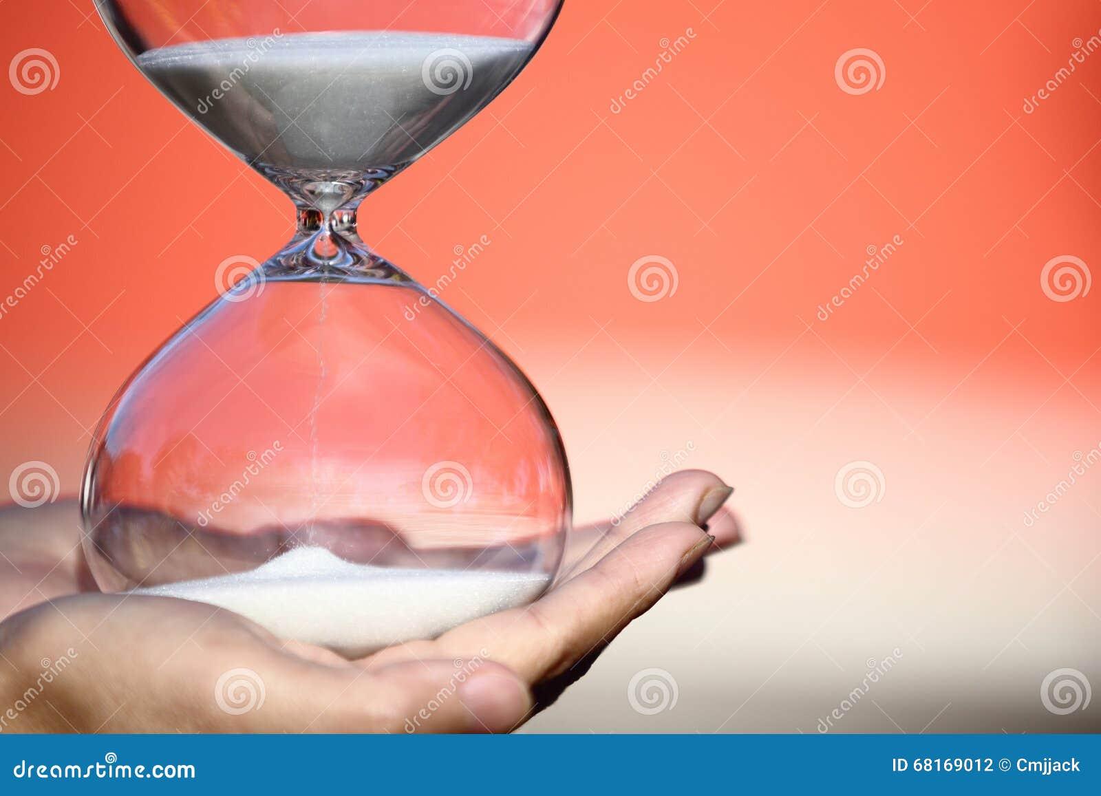 Hourglass moderno Símbolo do tempo countdown