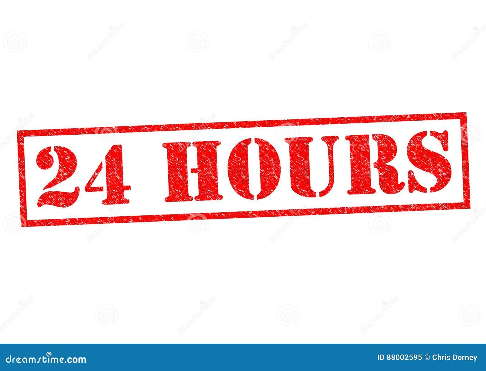 24 Hours Stock Image Cartoondealer Com 88002595