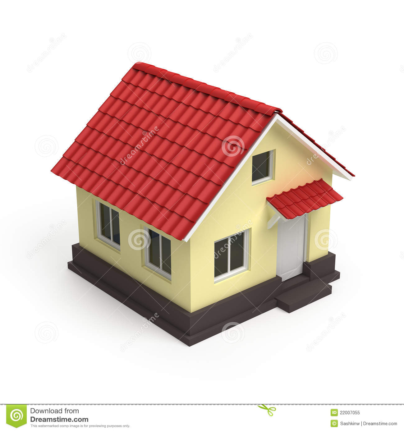 House 3d Icon Royalty Free Stock Photo Image 22007055