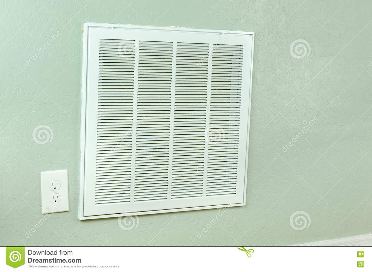 #85A724 House Air Conditioner Filter Intake Vent On Wall Stock  Highly Rated 4589 Hvac Wall Vents wallpapers with 1300x951 px on helpvideos.info - Air Conditioners, Air Coolers and more