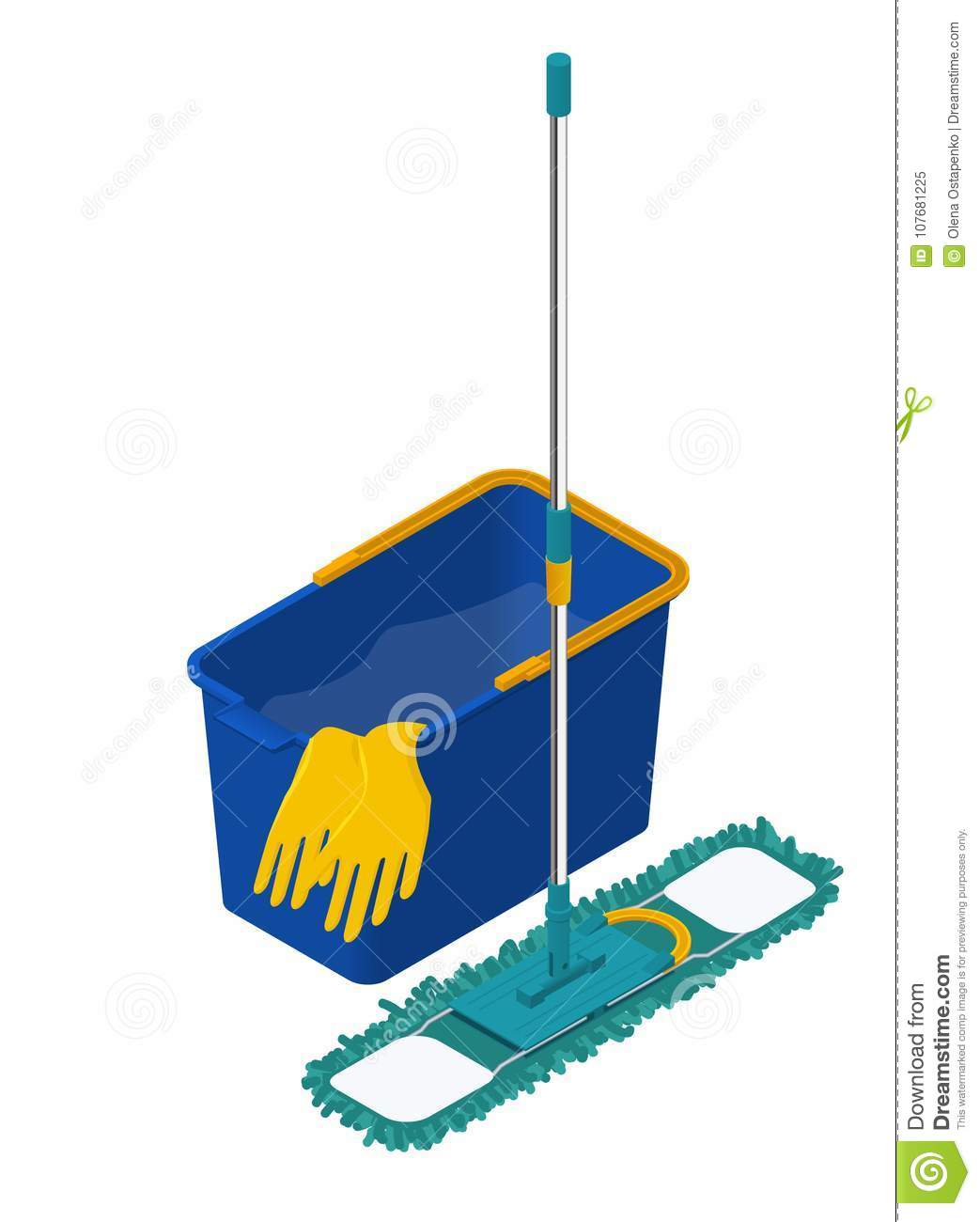 House And Apartment Cleaning Service Icon  Modern Plastic