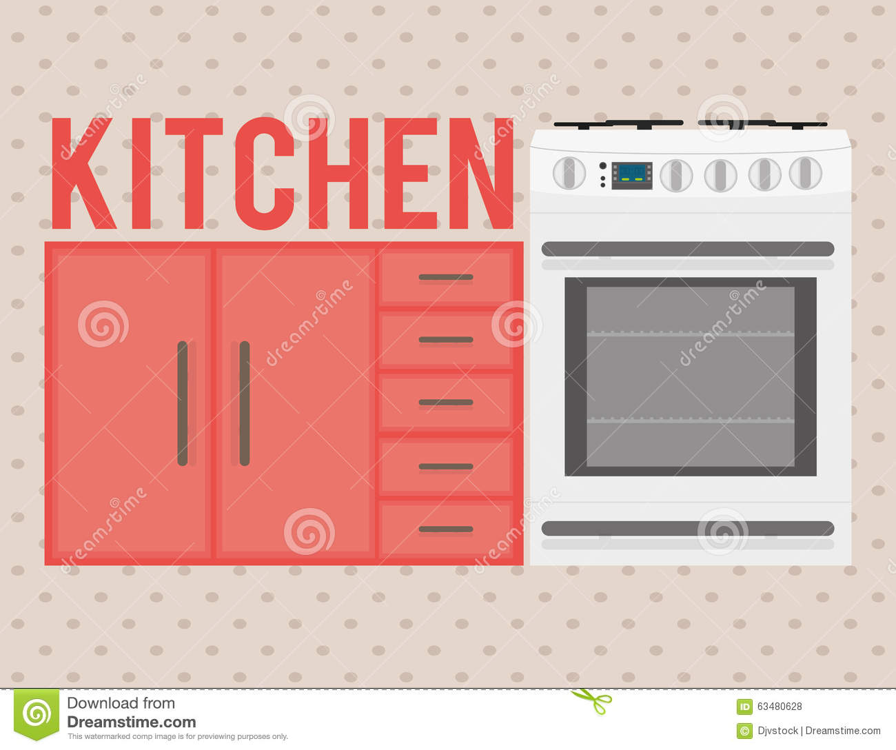 House appliances design stock vector image 63480628 for Household appliances design