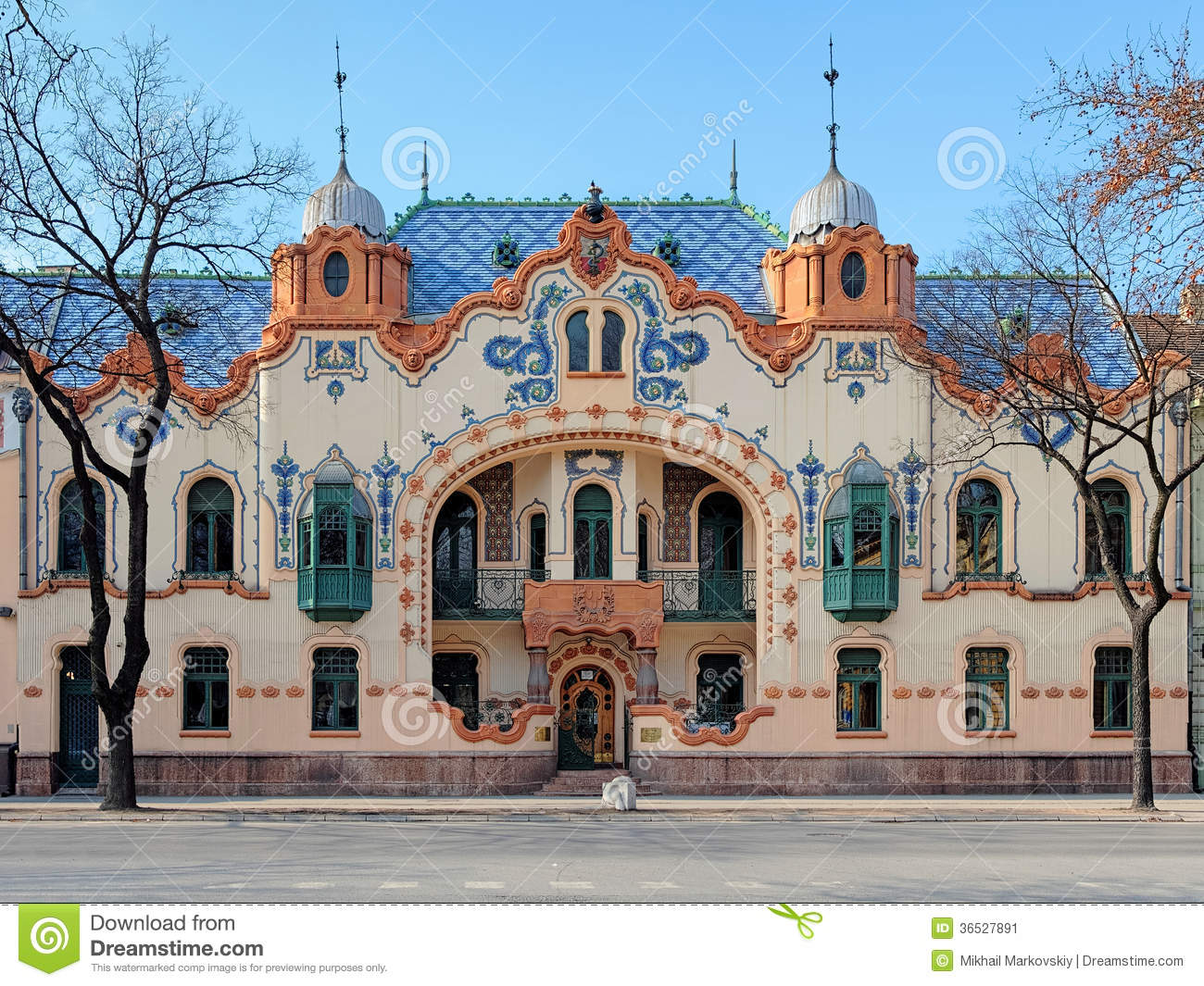 House Of rchitect Ferenc aichle In Subotica, Serbia Stock Image ... - ^