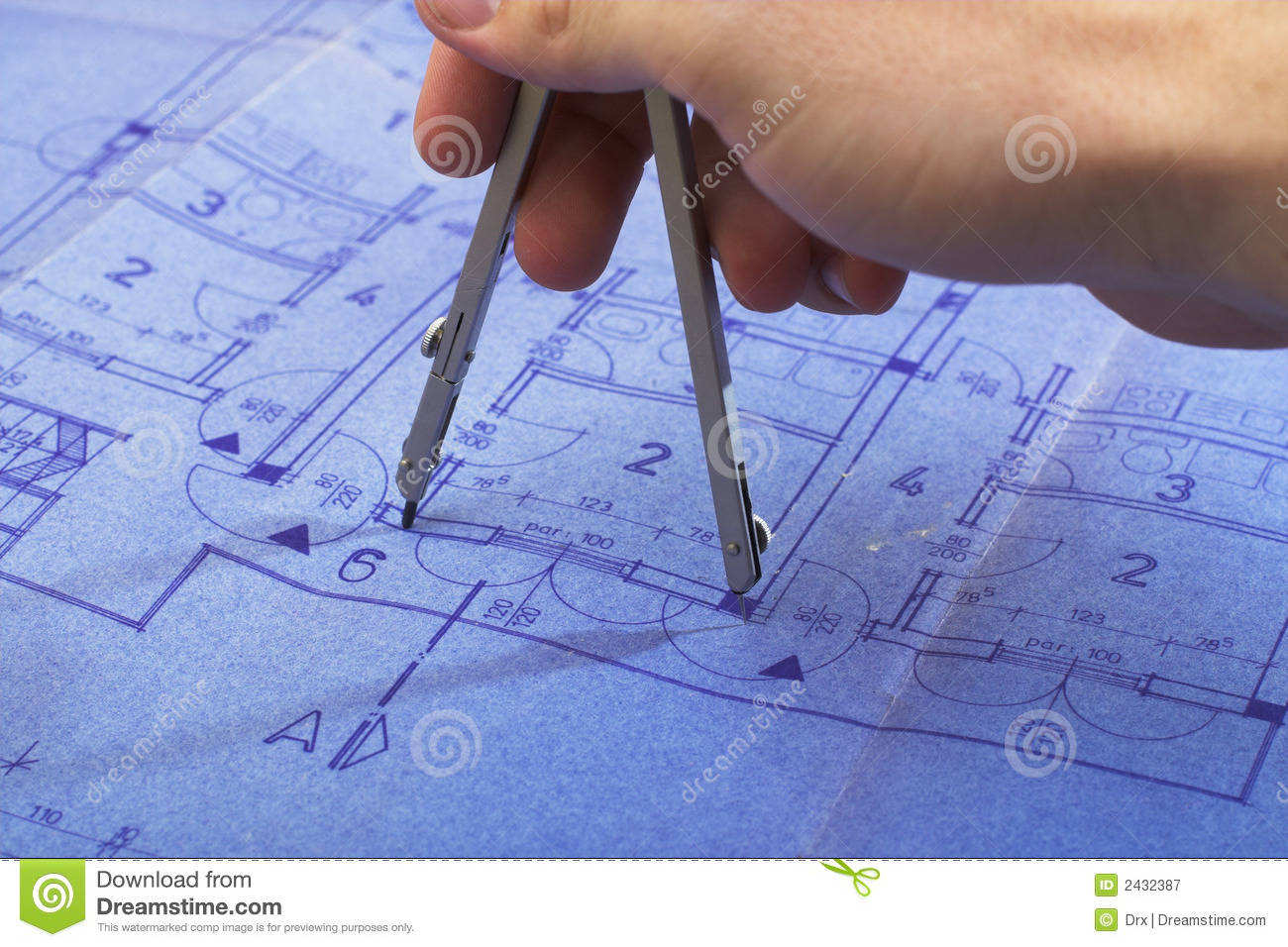 House architecture blueprint stock image image of planning download comp malvernweather Image collections