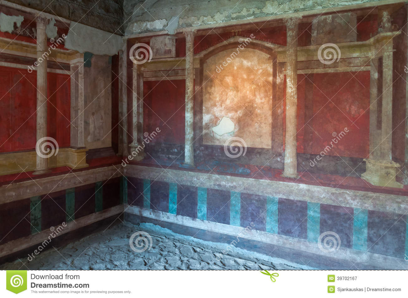 House Of Augustus, Palantine Hill, Rome Editorial ...